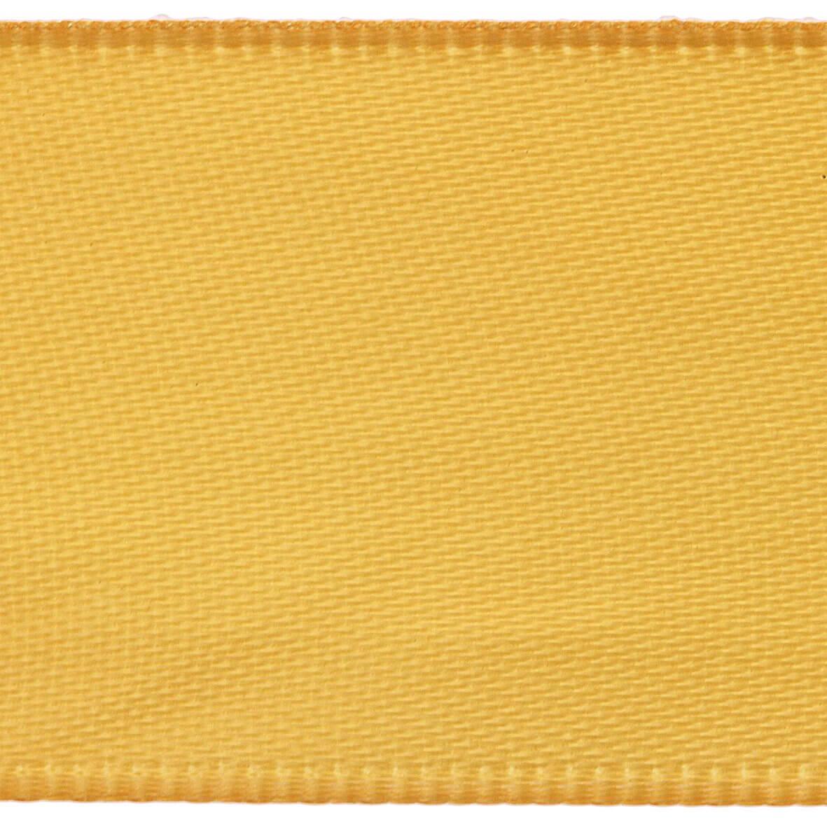 Marigold Club Green 15mm Double Faced Satin Ribbon