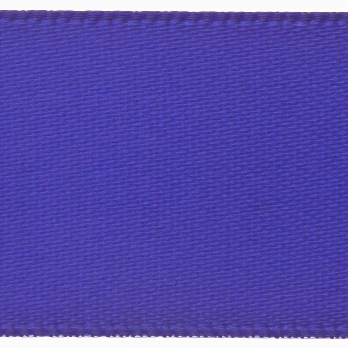 Royal Blue Club Green 23mm Double Faced Satin Ribbon