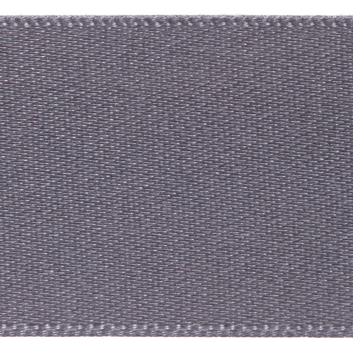 25mm Berisfords Satin Ribbon - Smoked Grey Colour 669