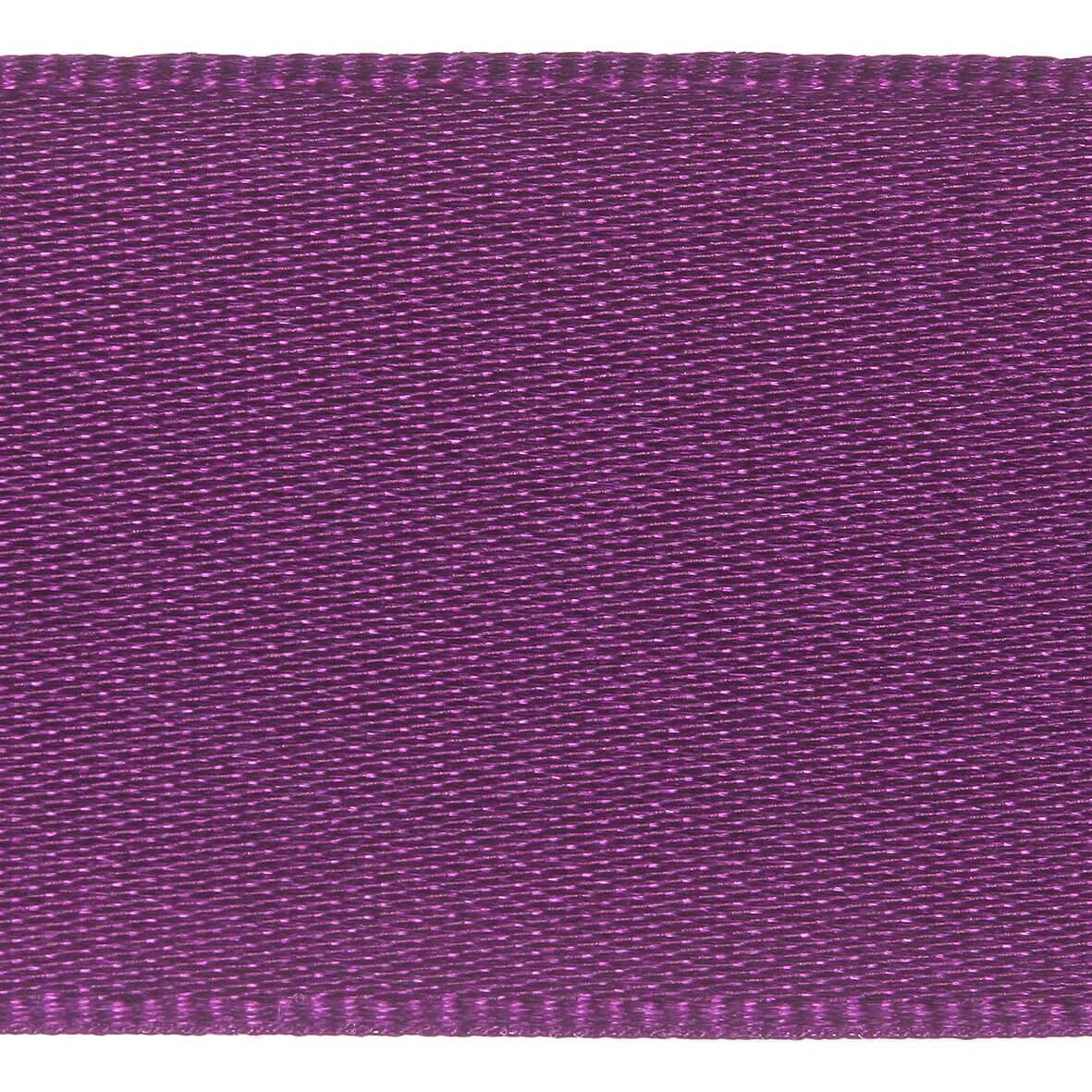 25mm Berisfords Satin Ribbon - Plum Colour 49