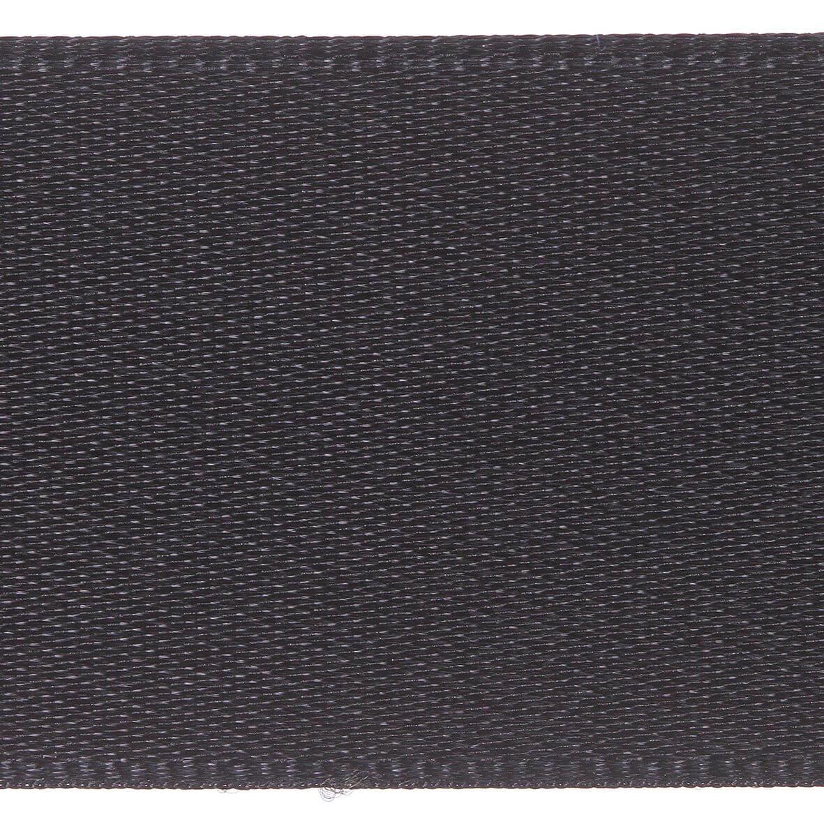 25mm Berisfords Satin Ribbon - Black Colour 10