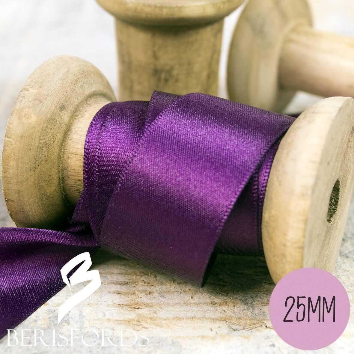 Berisfords Satin Ribbon 25mm