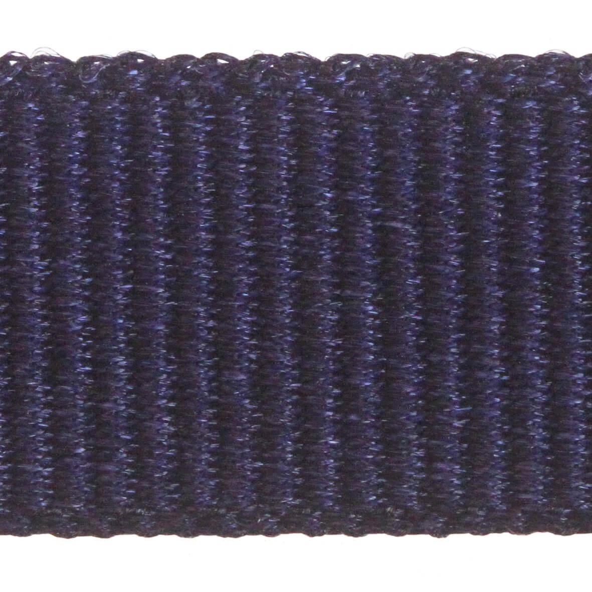 Berisfords Grosgrain 6mm Ribbon - Navy Colour 9590 - Zoom