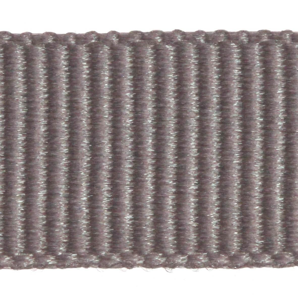 Berisfords Grosgrain 6mm Ribbon - Grey Colour 9704 - Zoom