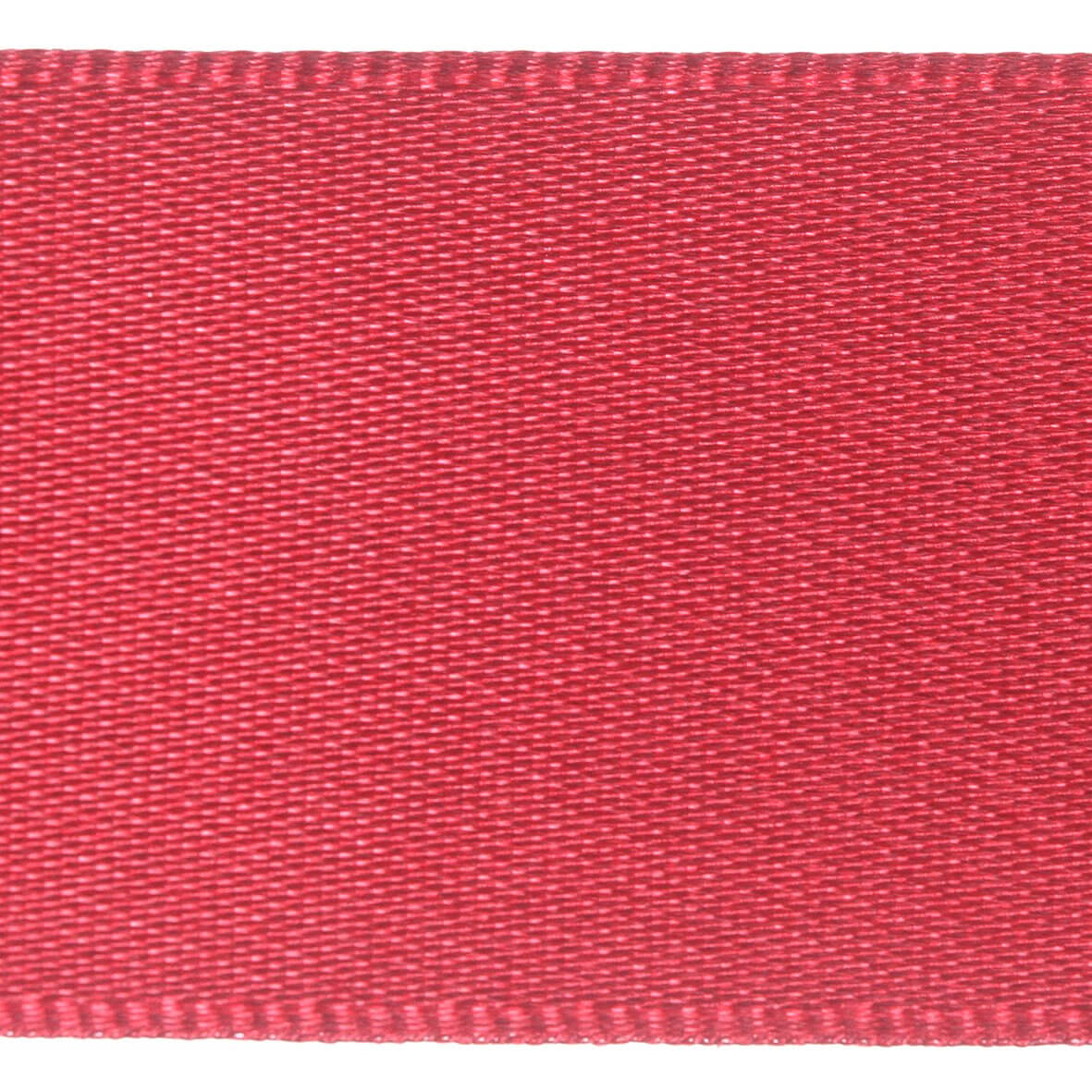 10mm Berisfords Satin Ribbon - Scarlet Berry Colour 908