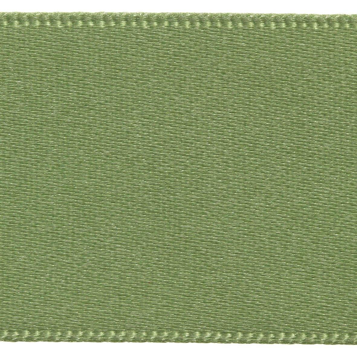 10mm Berisfords Satin Ribbon - Khaki Colour 80