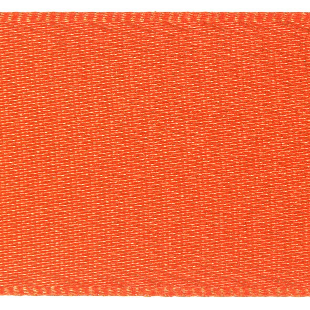 10mm Berisfords Satin Ribbon - Flame Colour 677