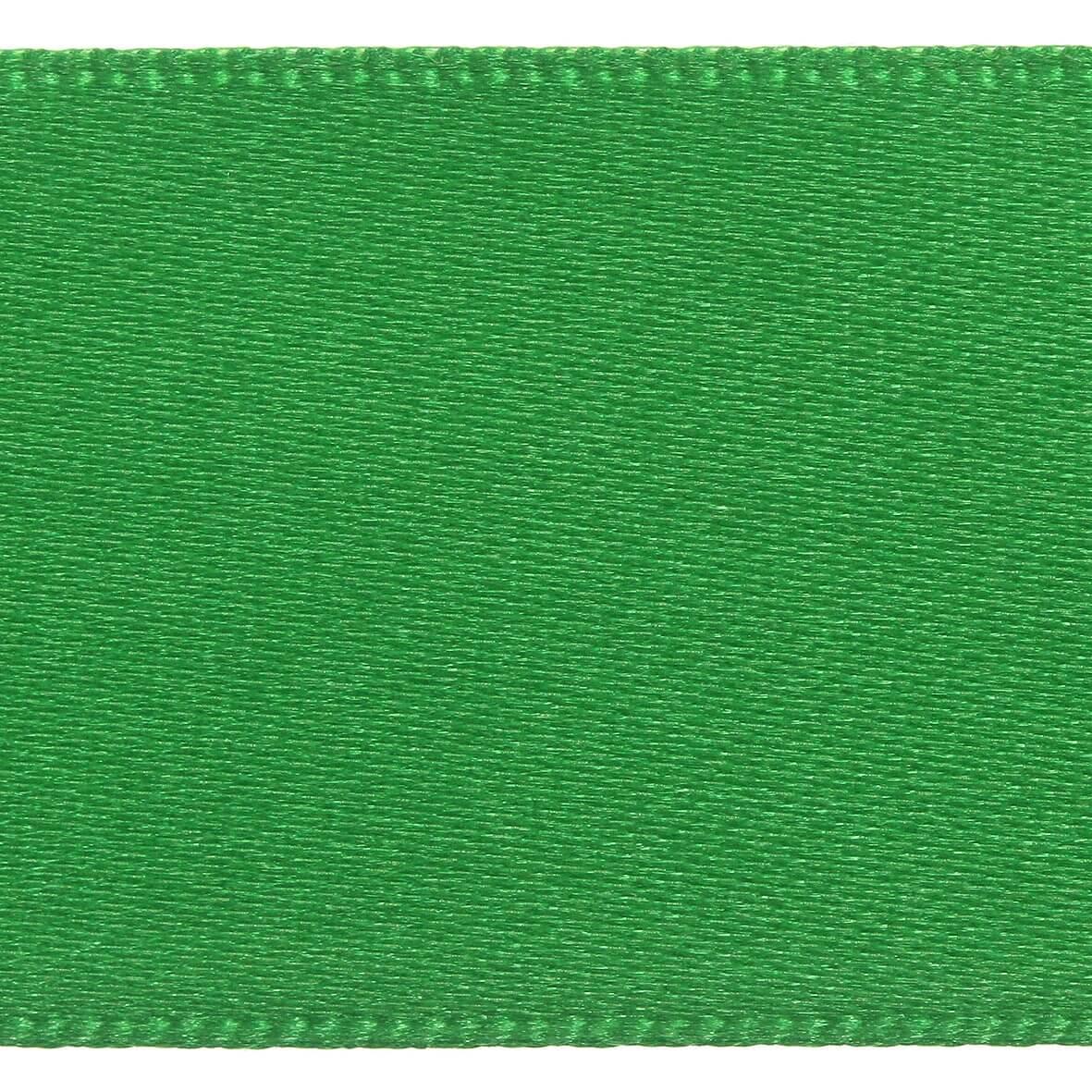 10mm Berisfords Satin Ribbon - Emerald Colour 23