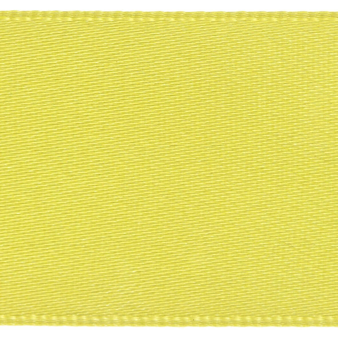 10mm Berisfords Satin Ribbon - Yellow Colour 679