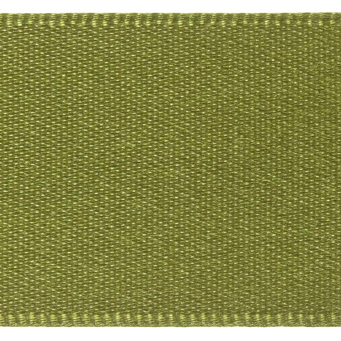 10mm Berisfords Satin Ribbon - Moss Colour 79