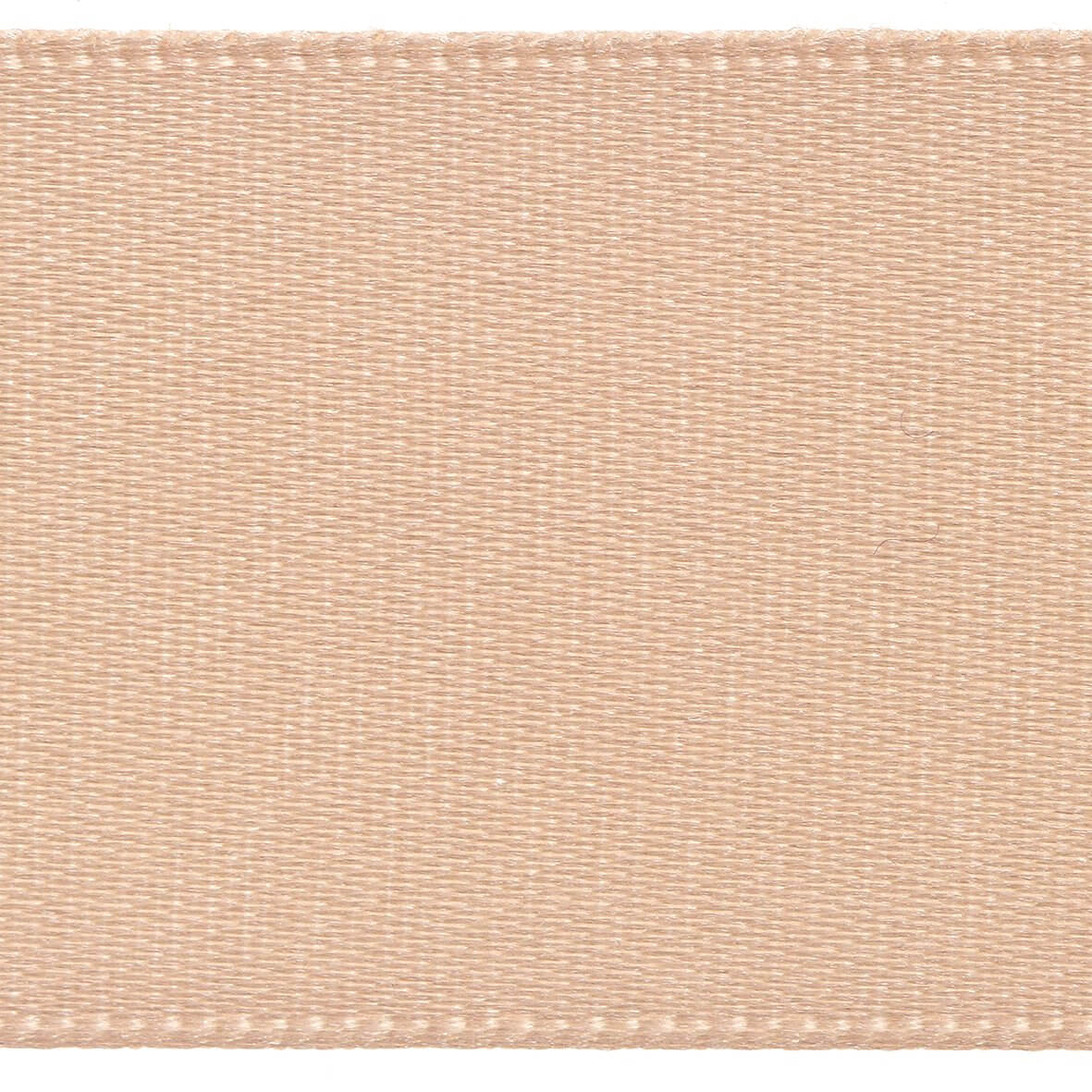 10mm Berisfords Satin Ribbon - Peach Colour 71