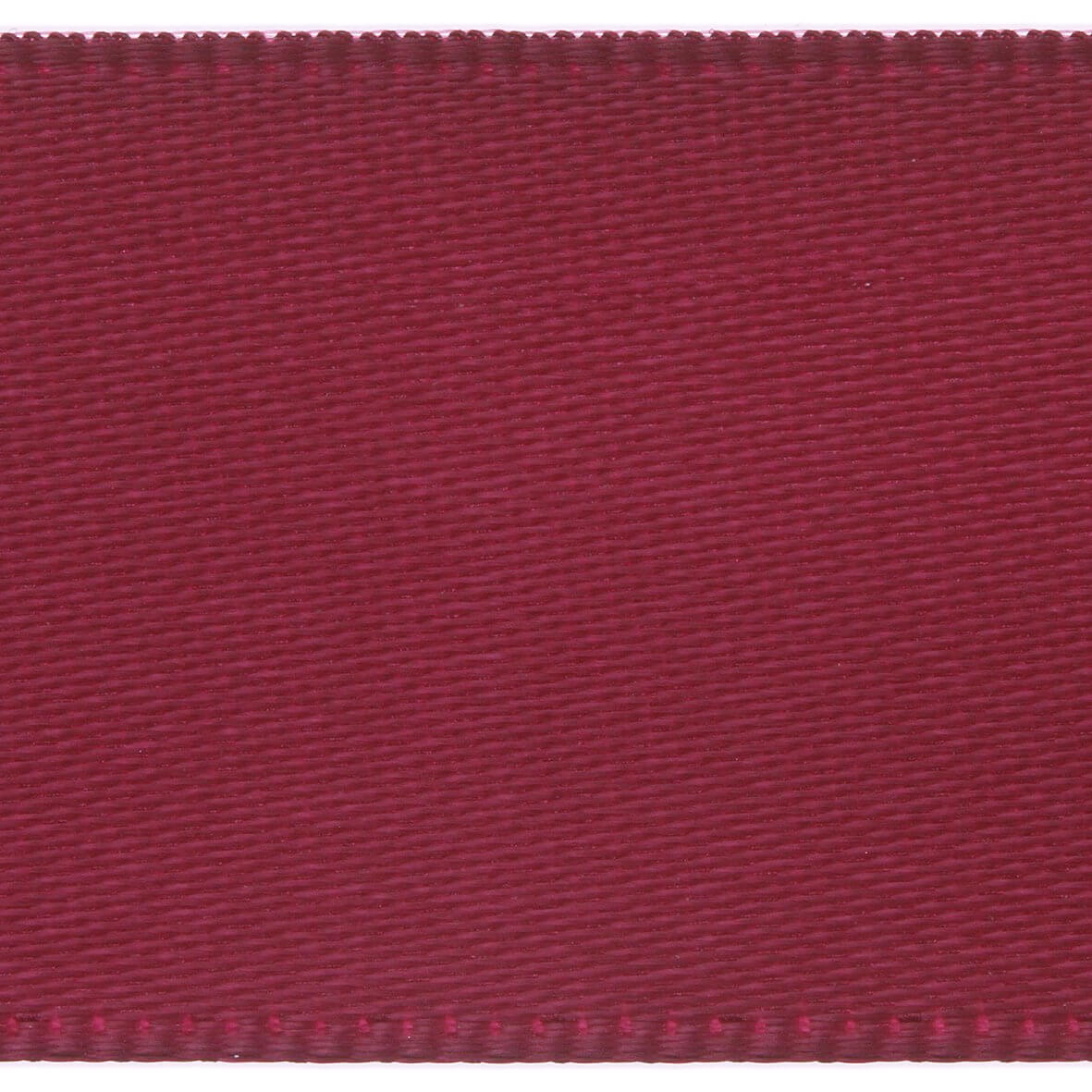 Burgundy Club Green 10mm Double Faced Satin Ribbon