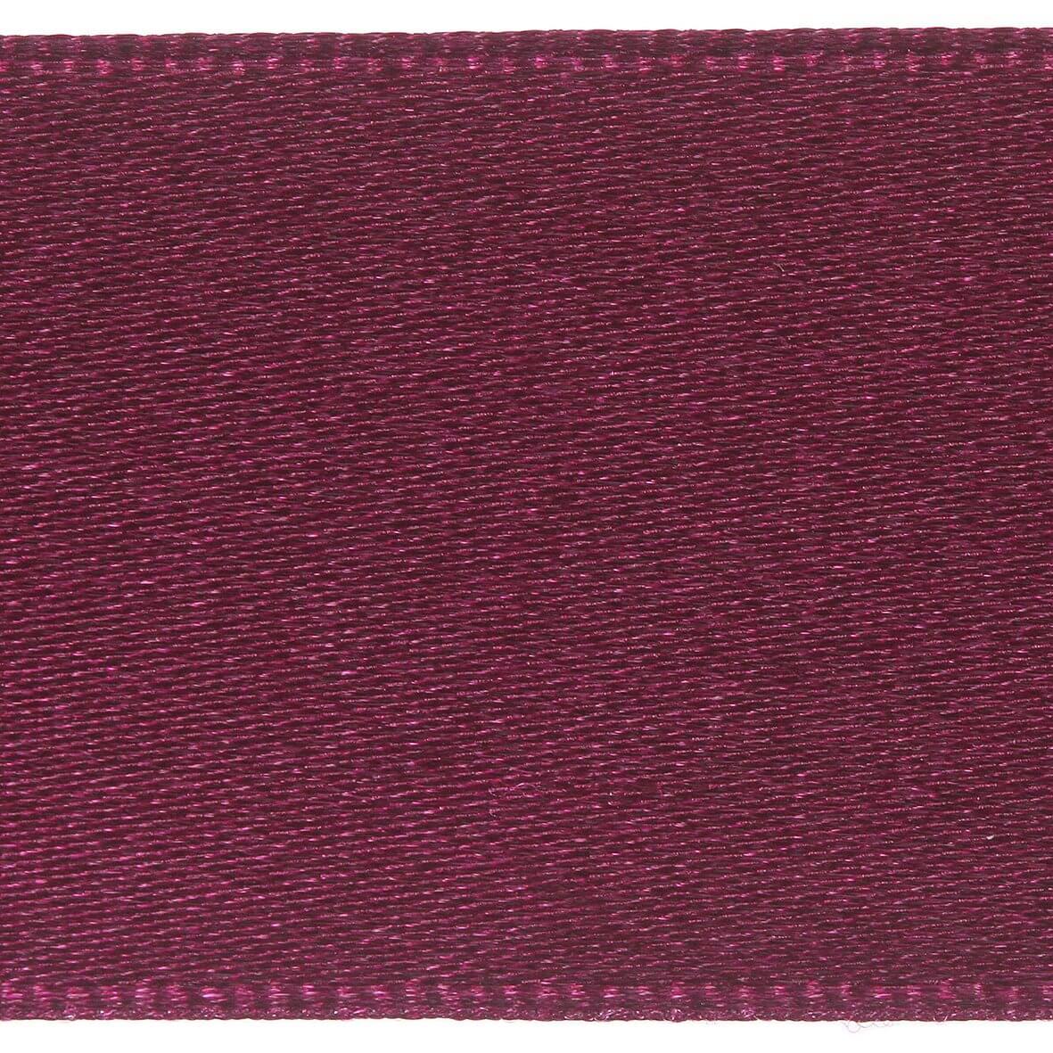 35mm Berisfords Satin Ribbon - Wine Colour 17