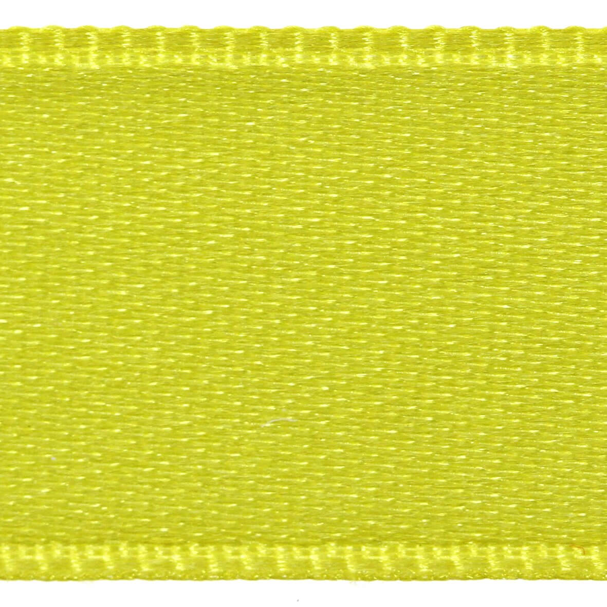 Acid Lime Col. 546 - 6mm Satab Satin Ribbon