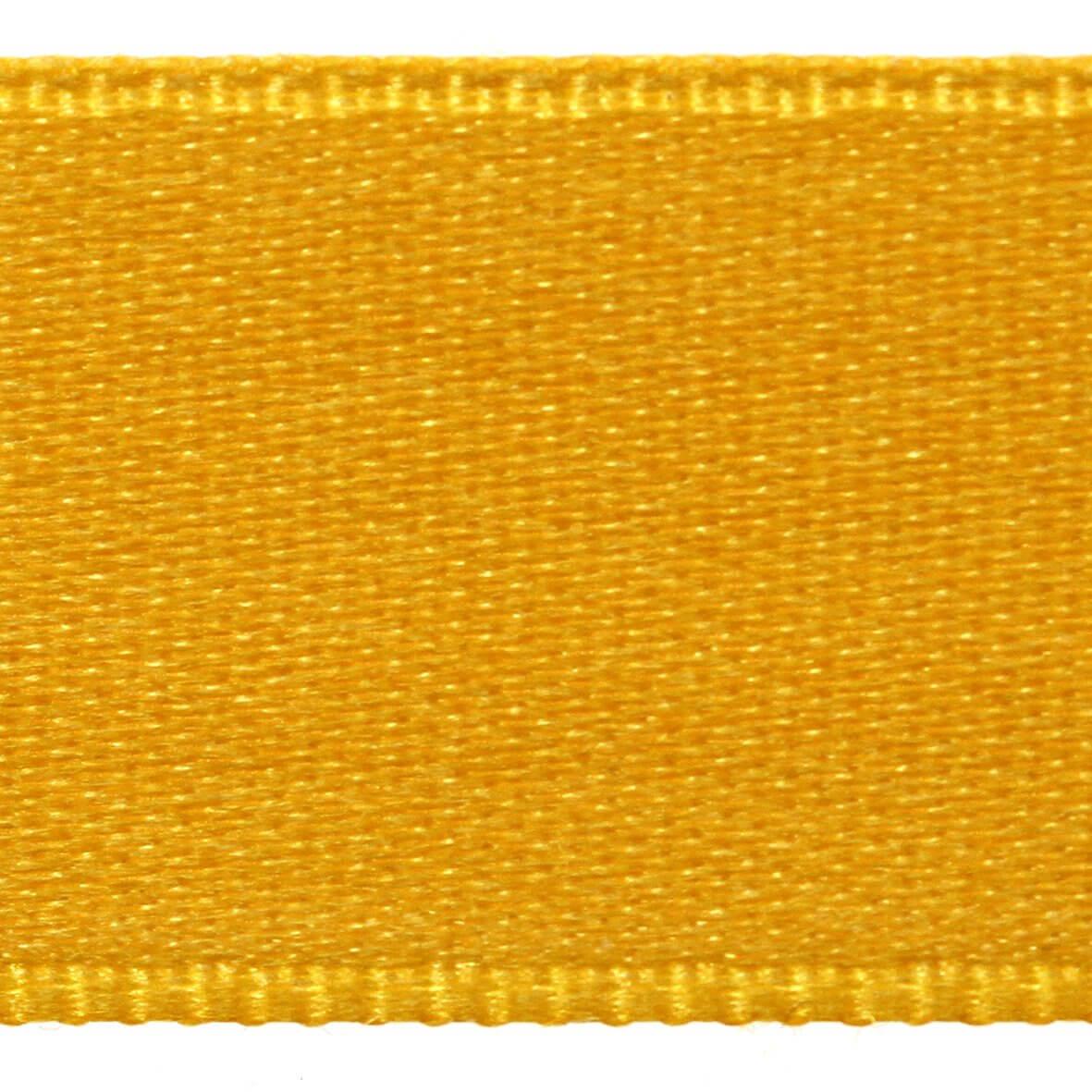 Taxicab Yellow Col. 218 - 15mm Satab Satin Ribbon