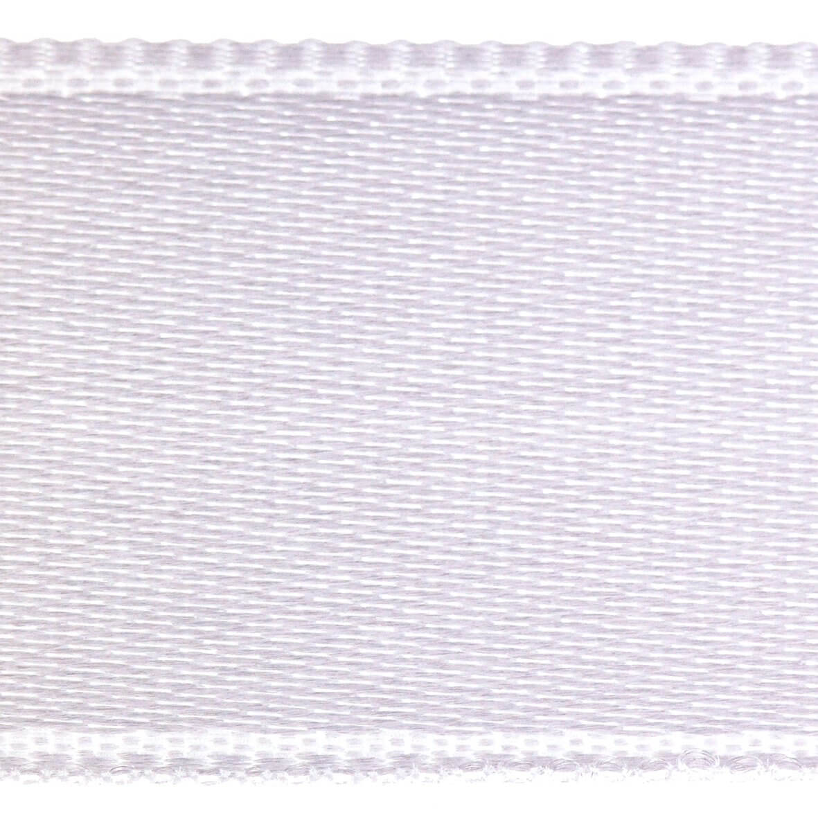 Soft White Col. 201 - 25mm Satab Satin Ribbon