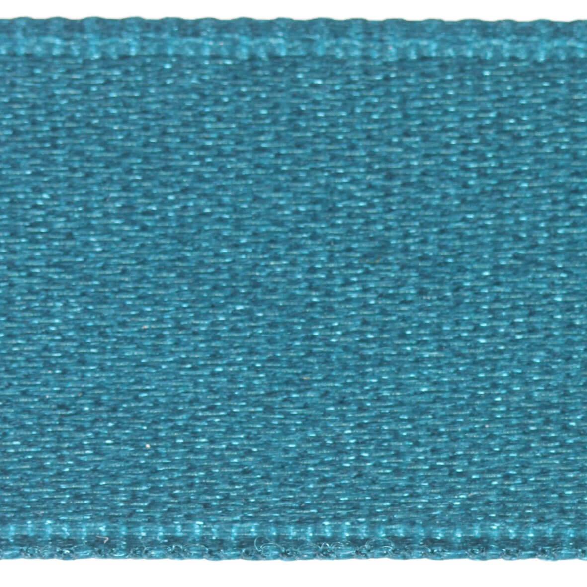 Mediterranian Blue Col. 269 - 25mm Satab Satin Ribbon