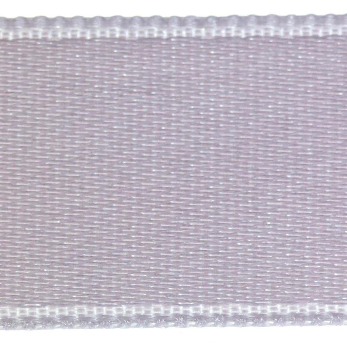 Mercury Silver Col. 316 - 25mm Satab Satin Ribbon