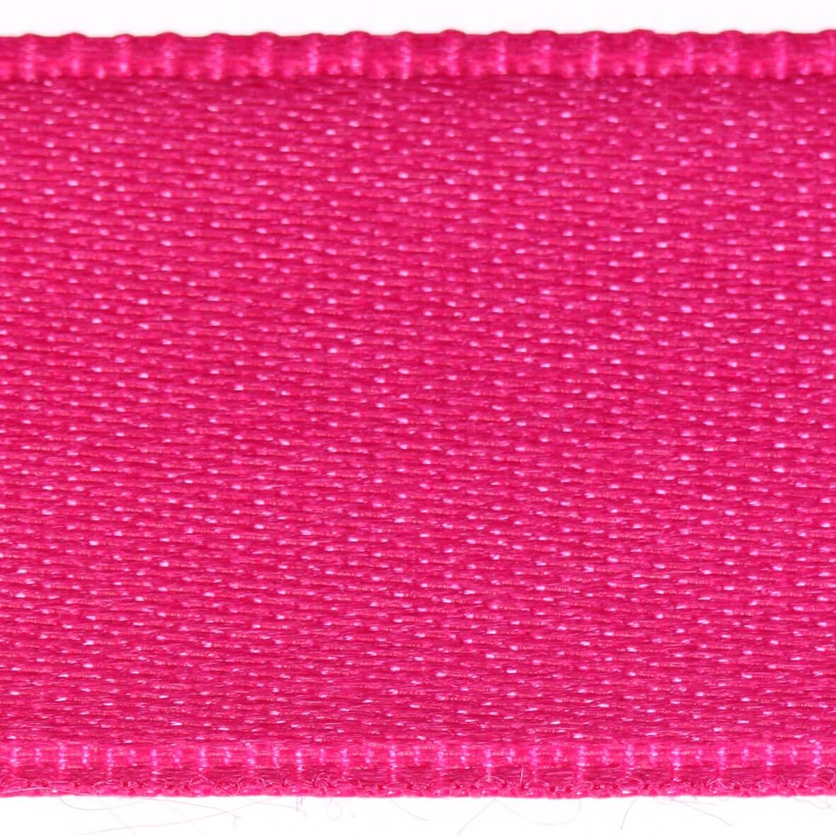 Fuchsia Col. 210 - 25mm Satab Satin Ribbon