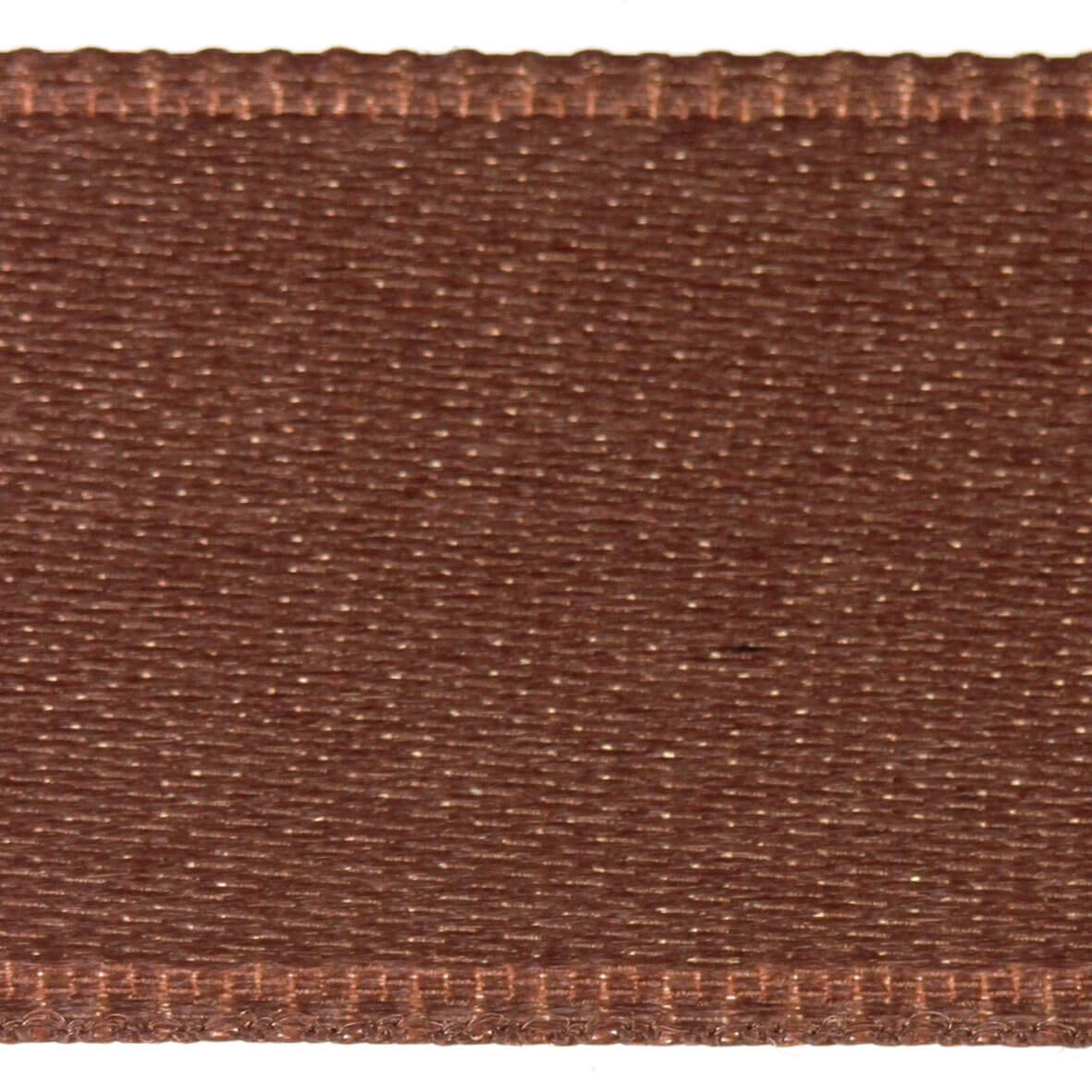 Bitter Chocolate Col. 215 - 25mm Satab Satin Ribbon