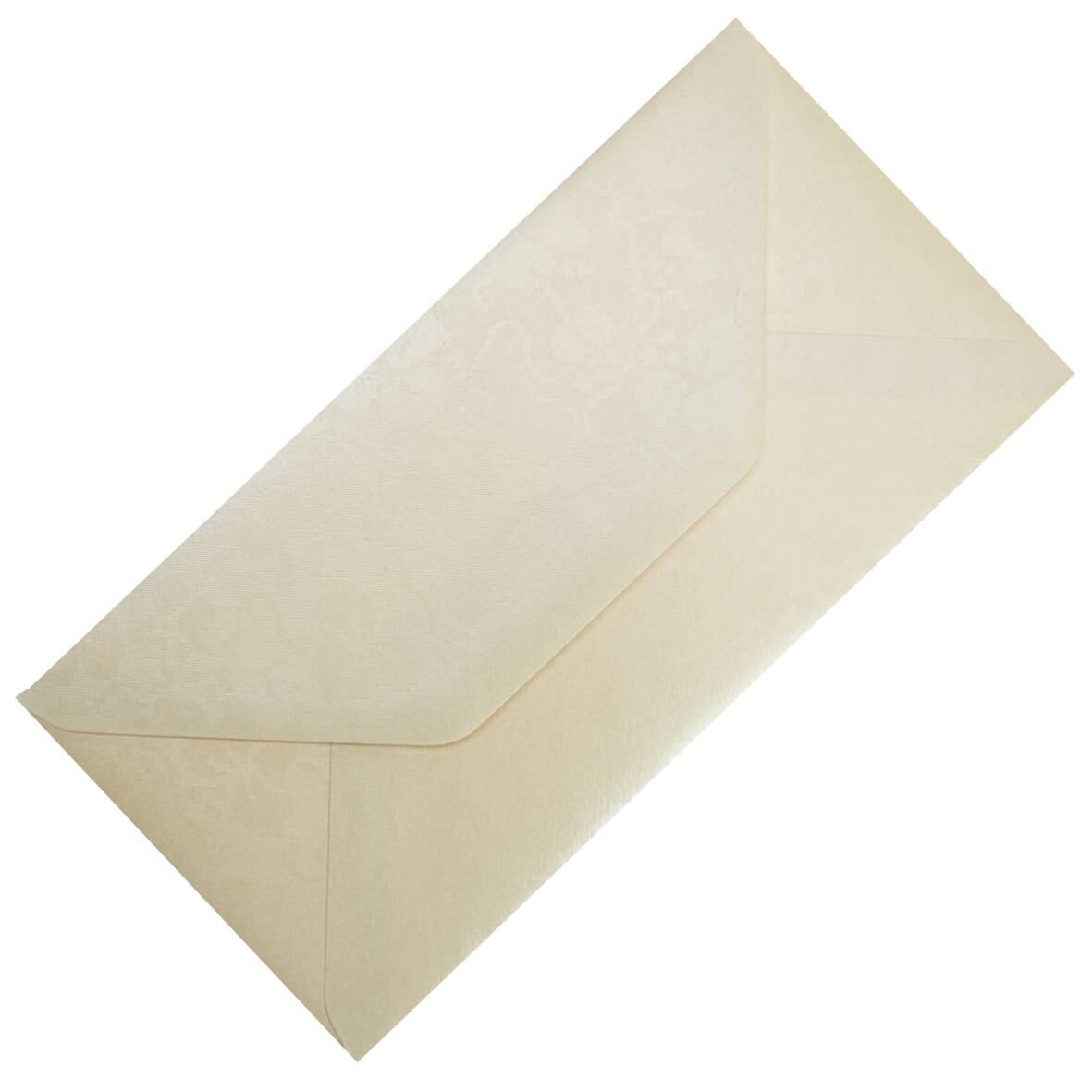 Broderie Cream DL Envelope Large Tall