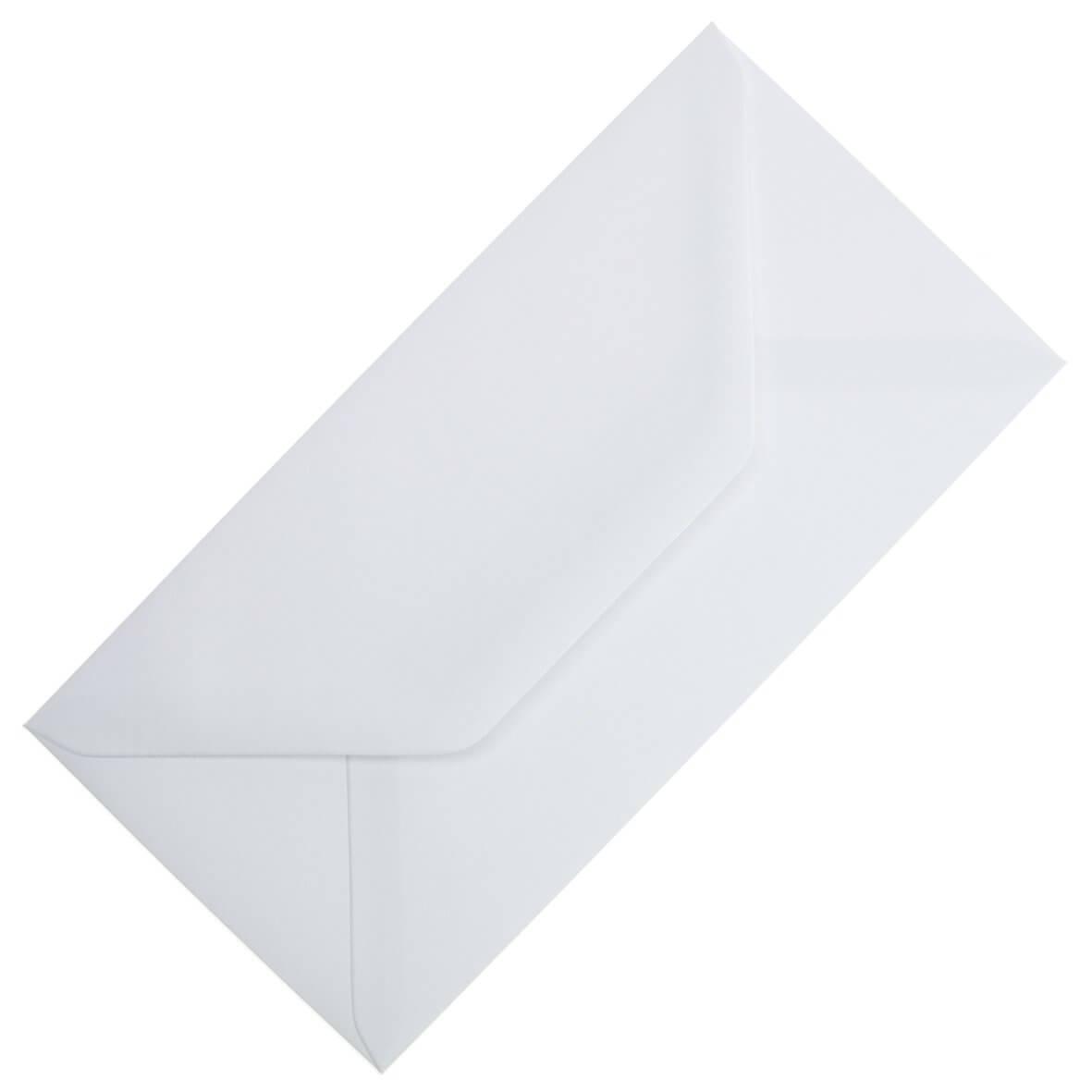 Plain White DL Envelope Large Tall