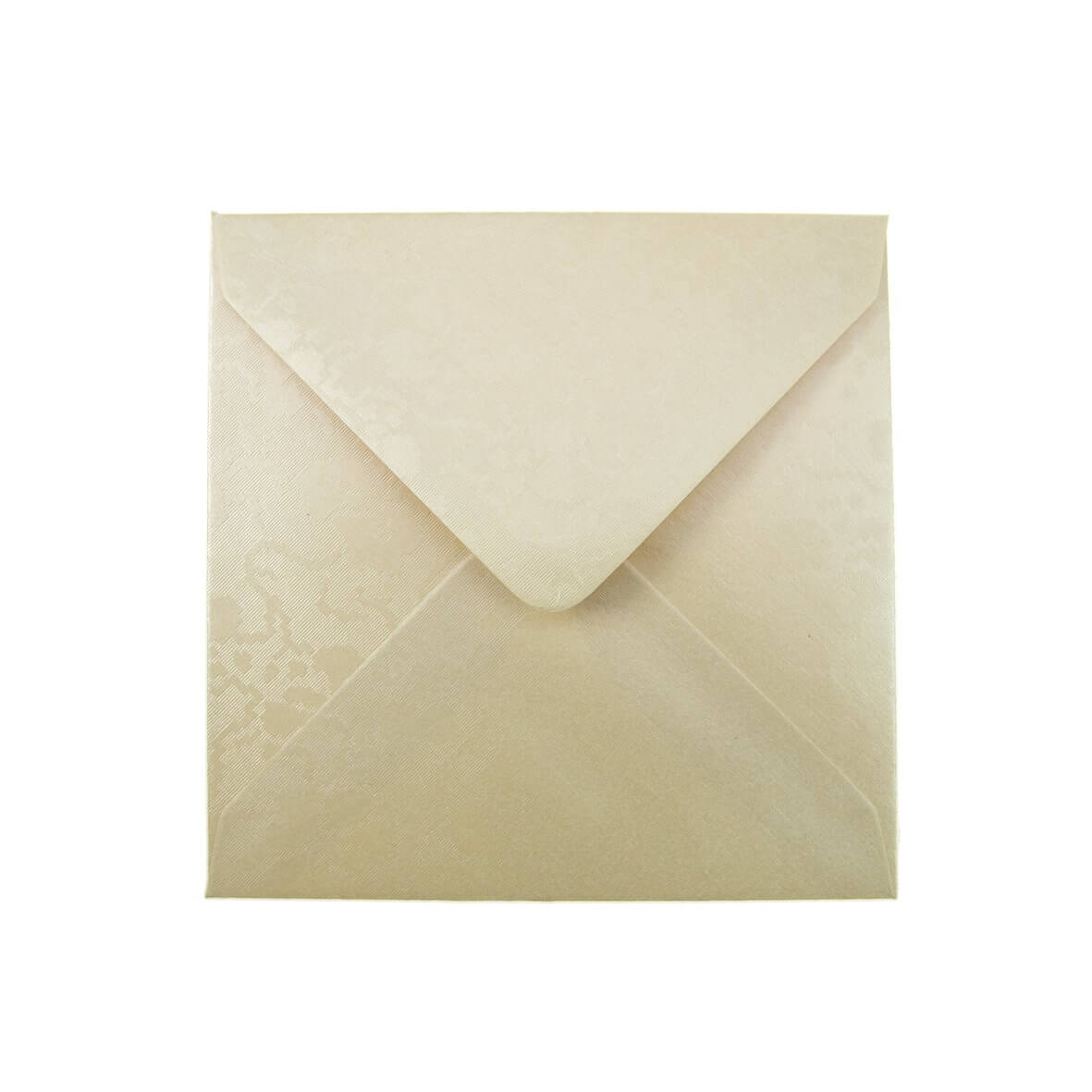 Broderie Cream Small Square 130mm Envelope