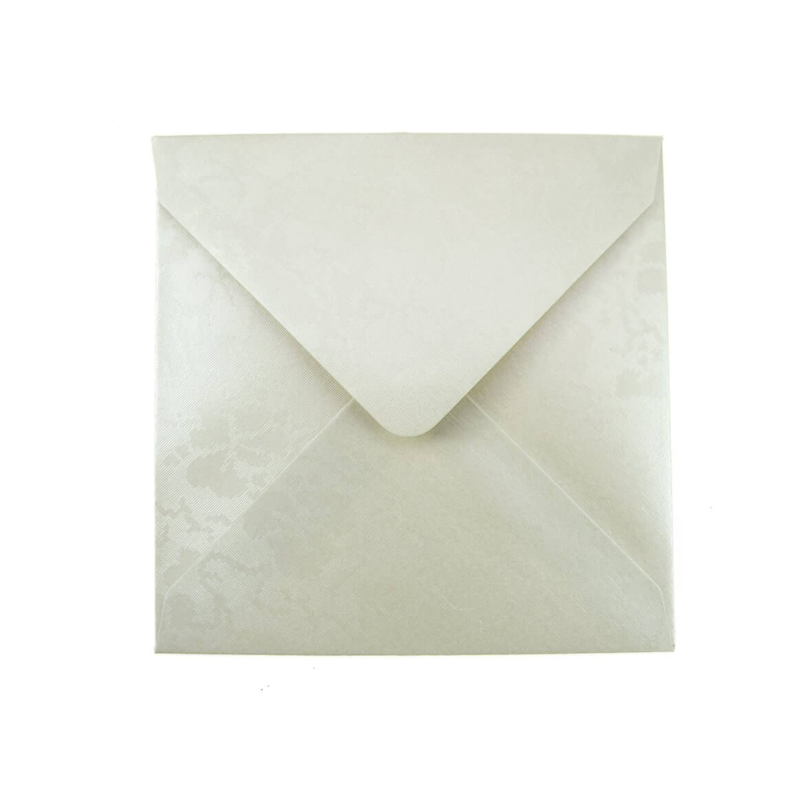 Broderie Ivory Small Square 130mm Envelope