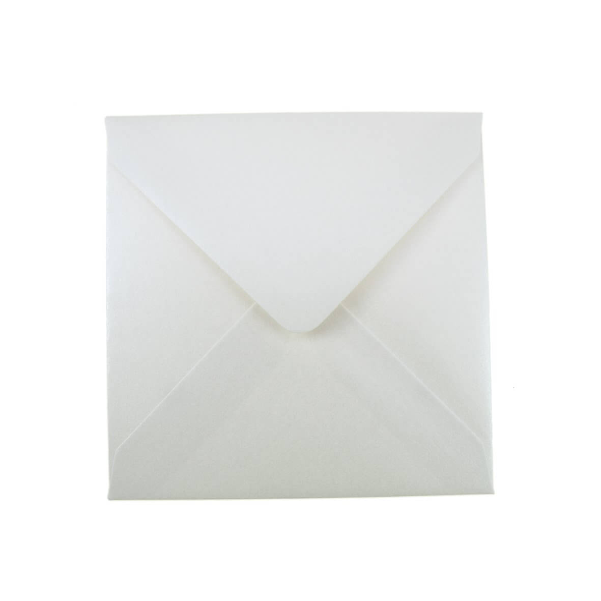 Pearlescent Ivory Small Square 130mm Envelope