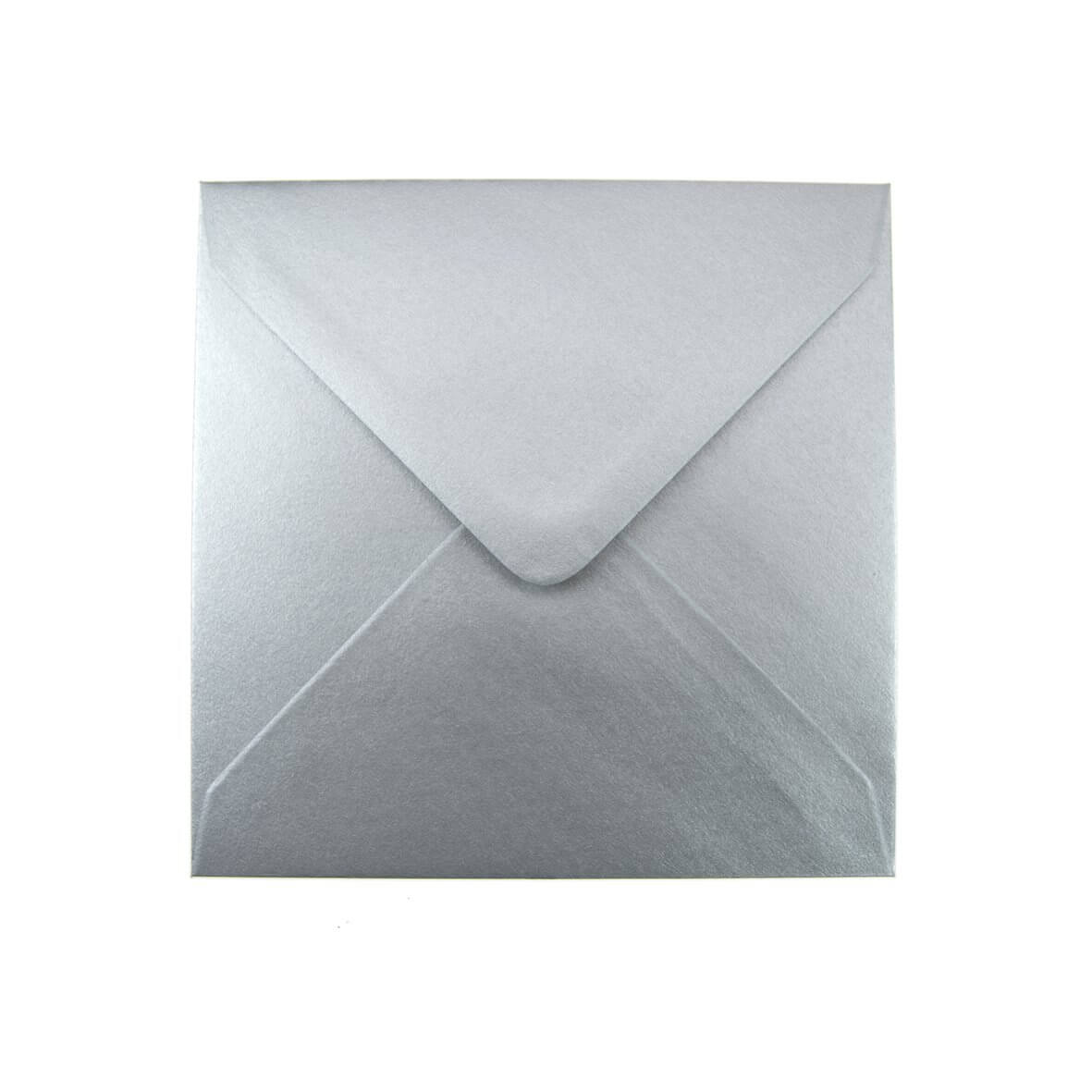 Silver Small Square 130mm Envelope