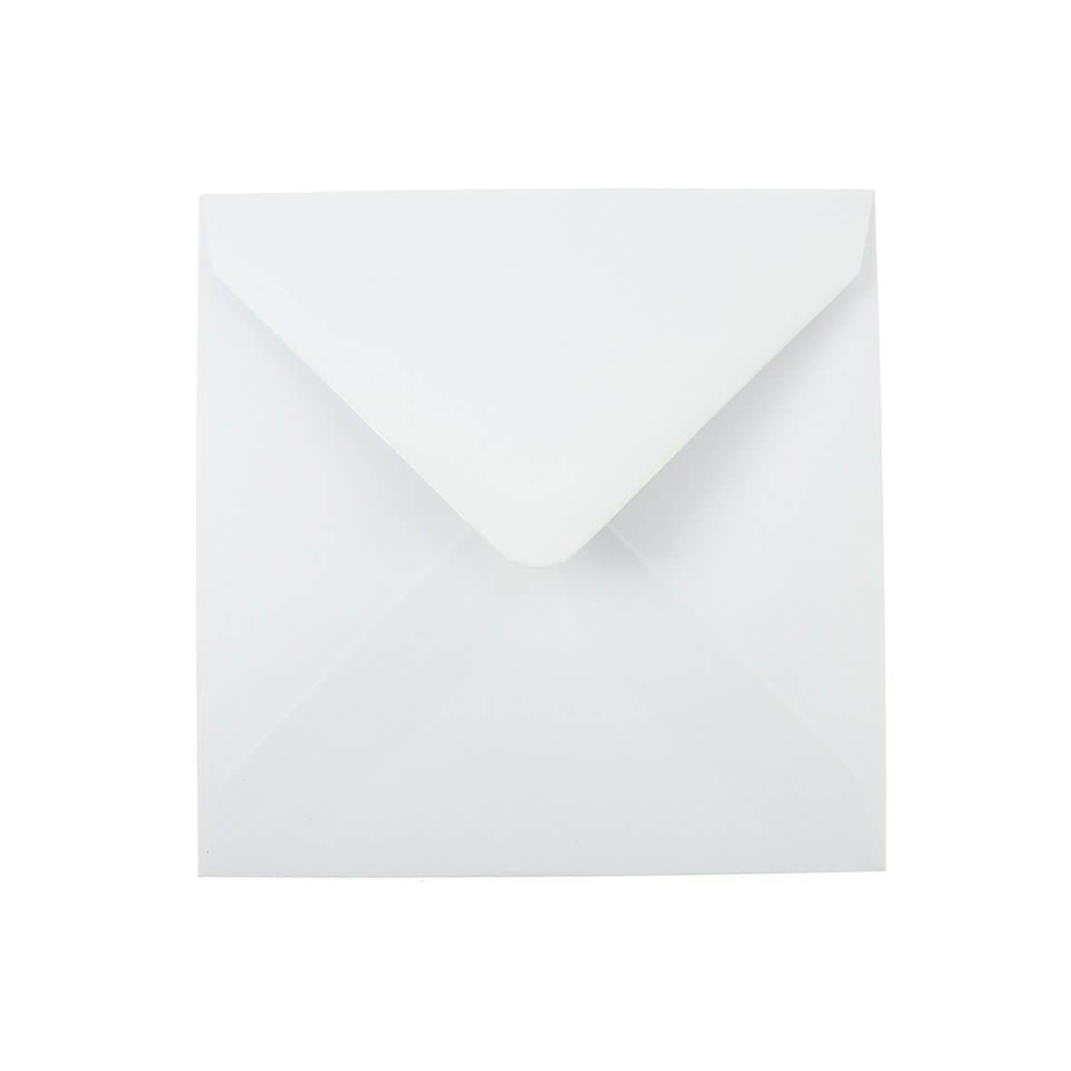 Plain White Small Square 130mm Envelope