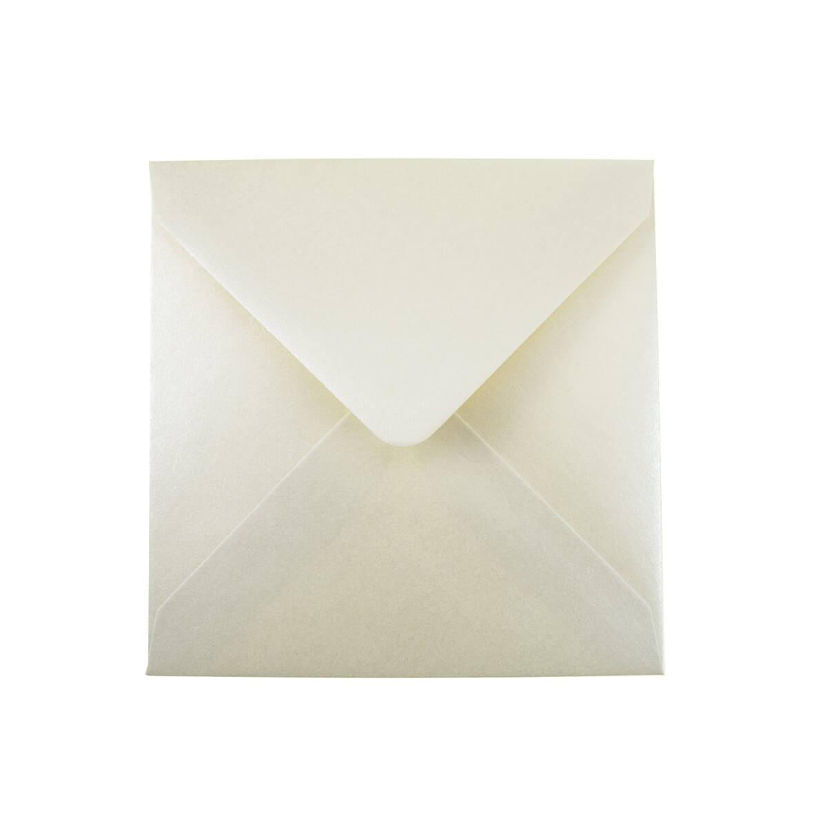 Vintage Ivory Small Square 130mm Envelopes