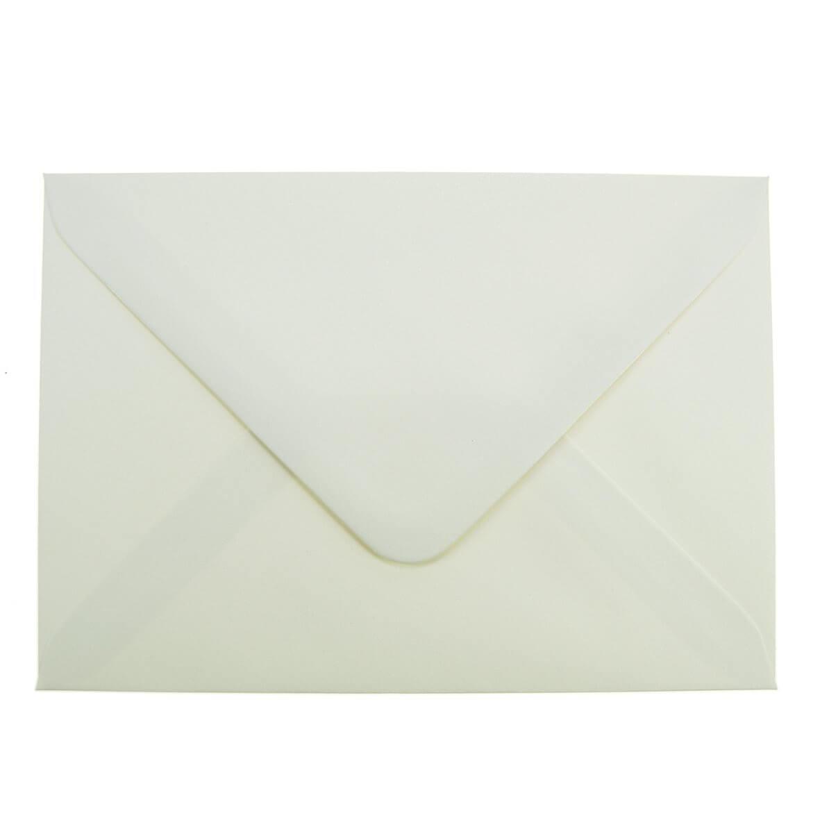 Ivory Sparkle C6 Envelope