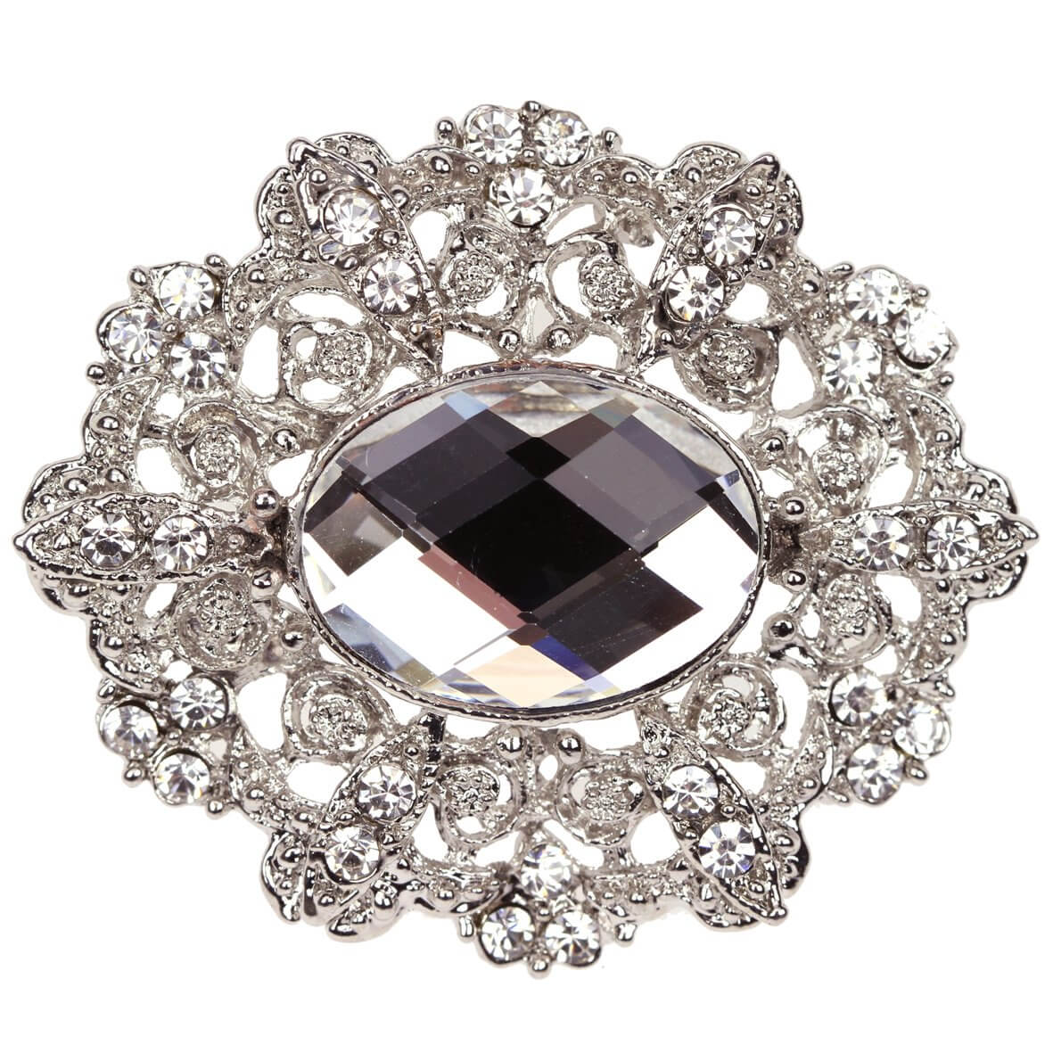 Marquise - an elegant wedding brooch