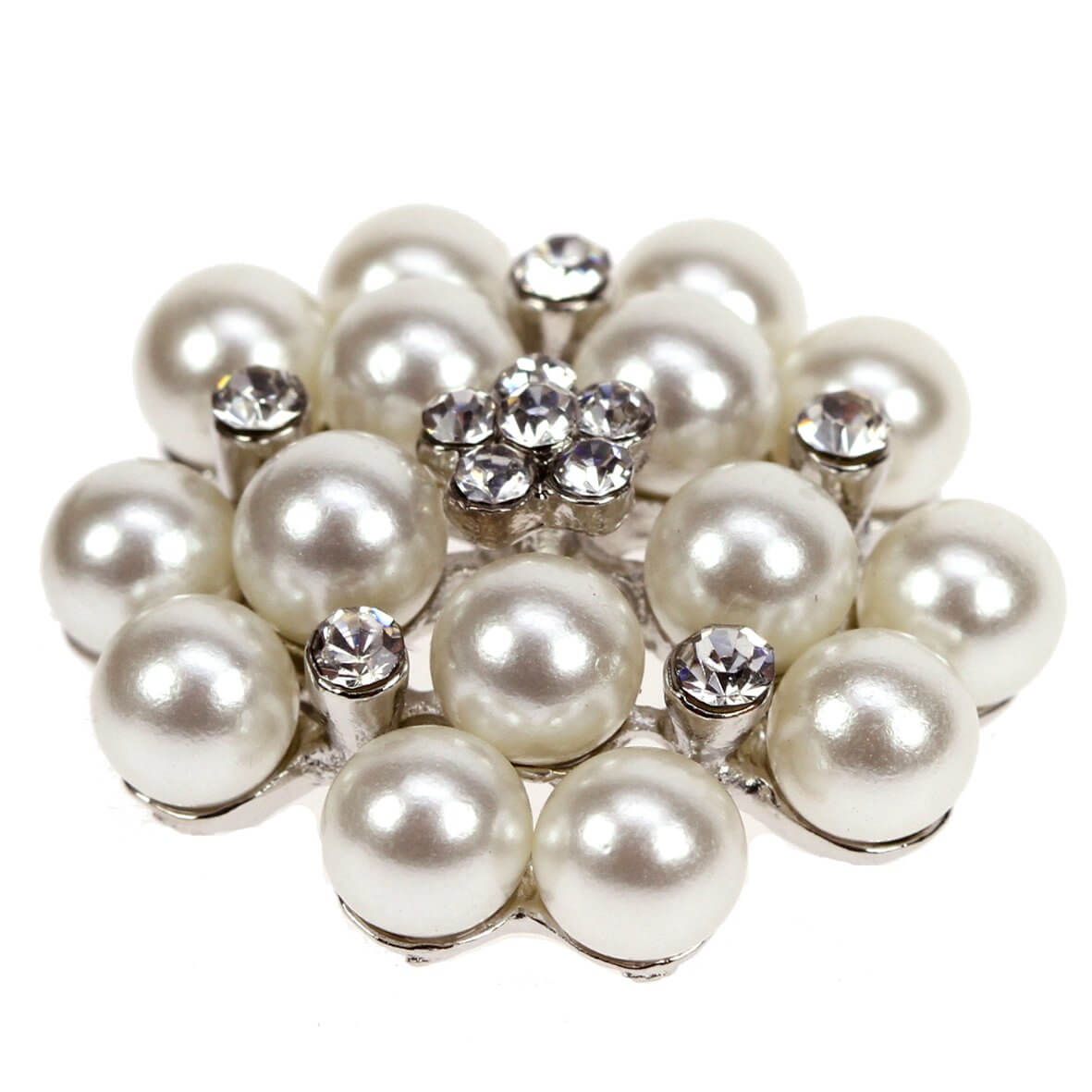 Pelegrina Midi Diamante and Pearl Embellishment