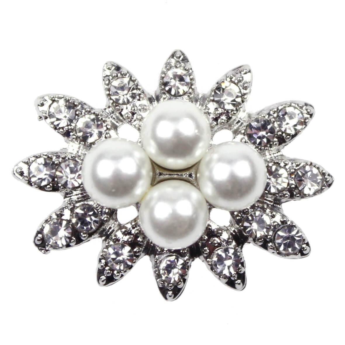 Beatrice Diamante and Pearl Embellishment