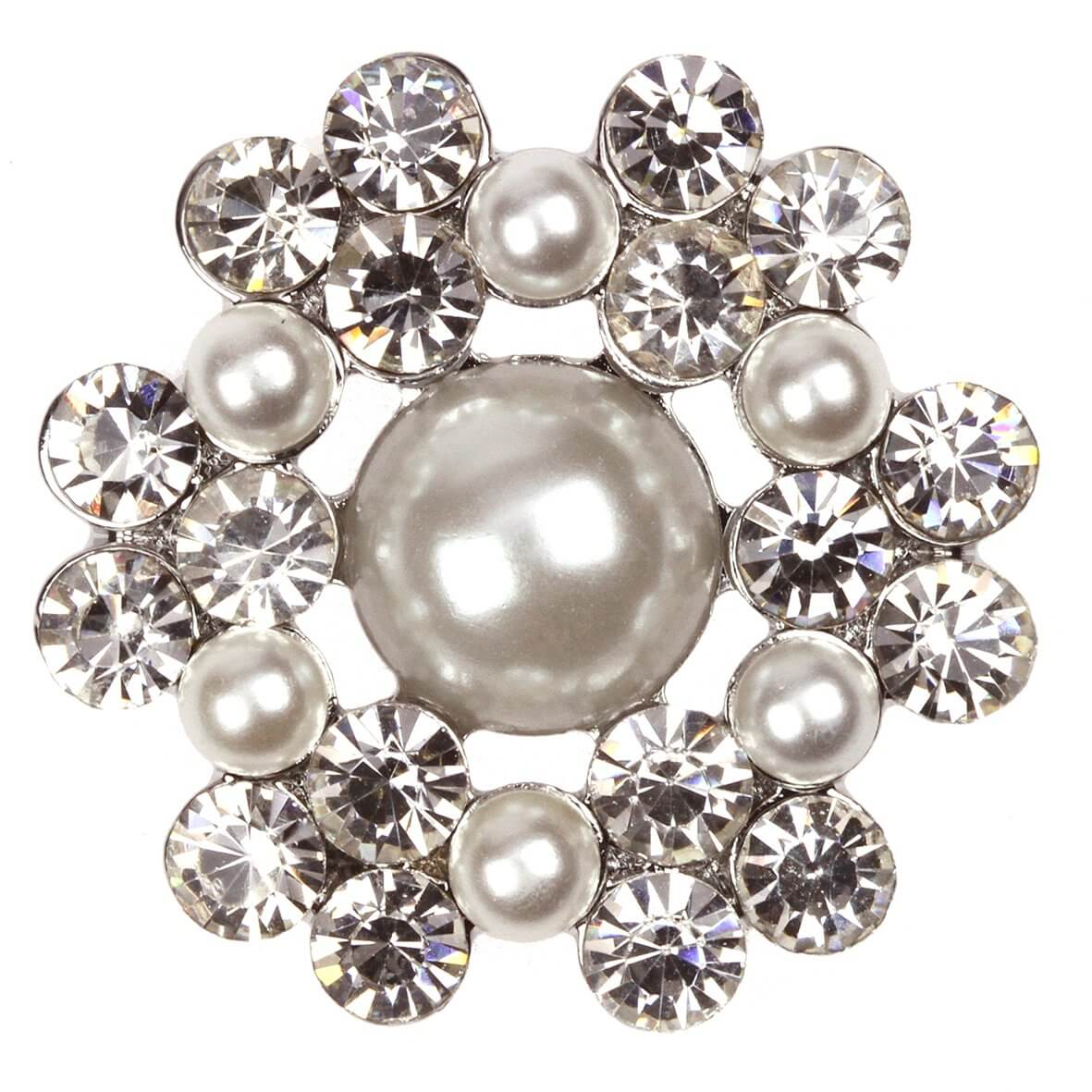 Breslin Diamante and Pearl Embellishment