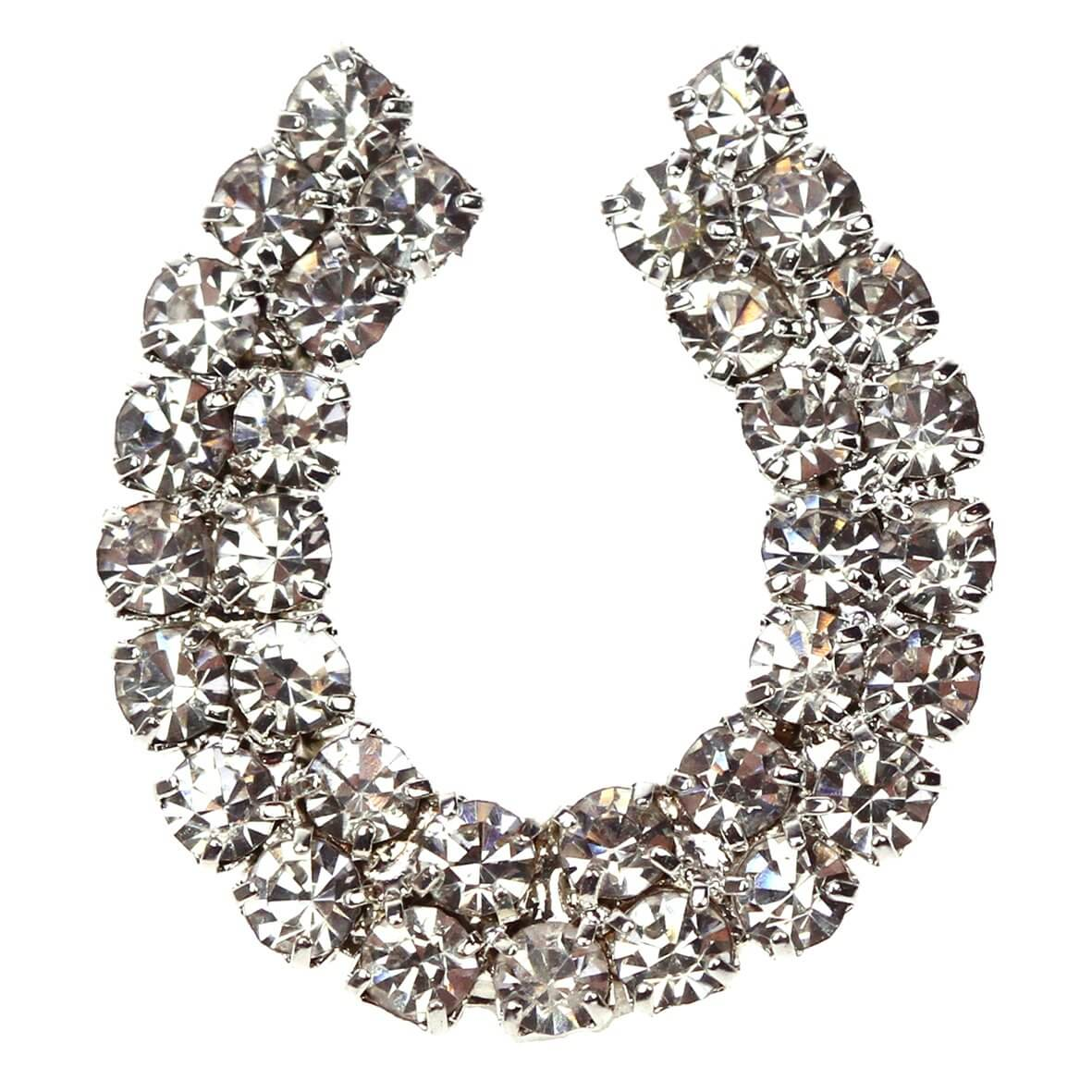 Diamante Horseshoe Embellishment