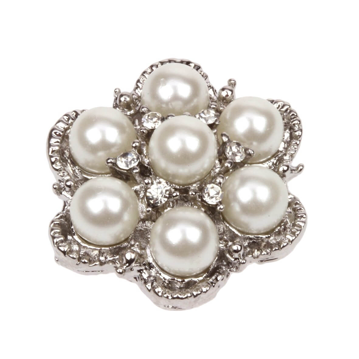 Araminta Pearl Flower Embellishment