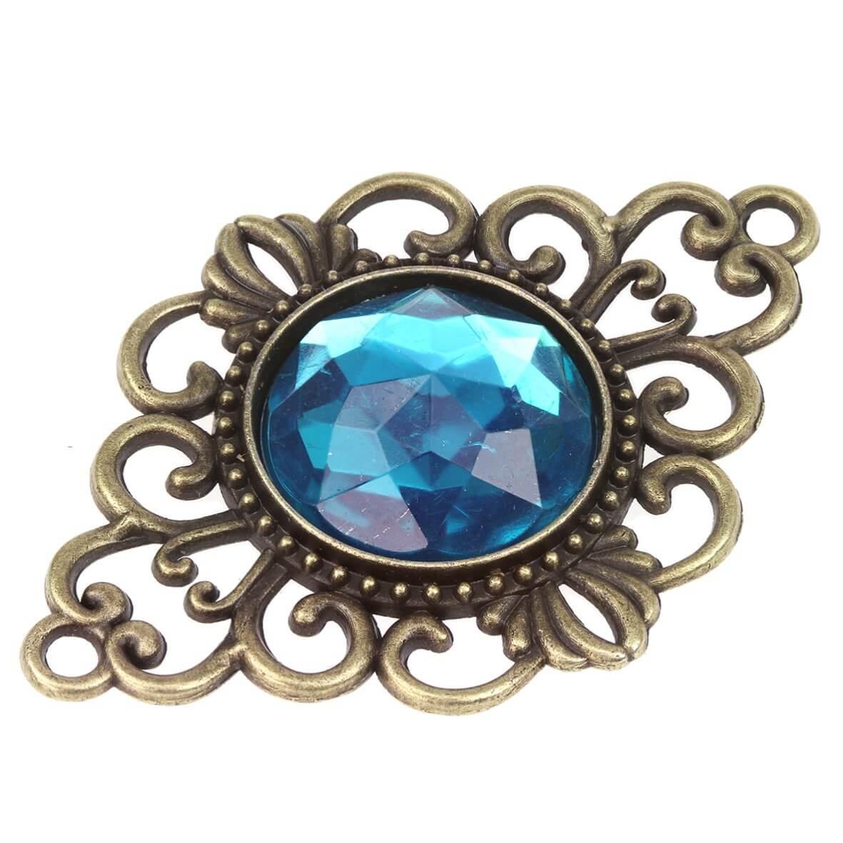 Duvessa Turquoise Embellishment