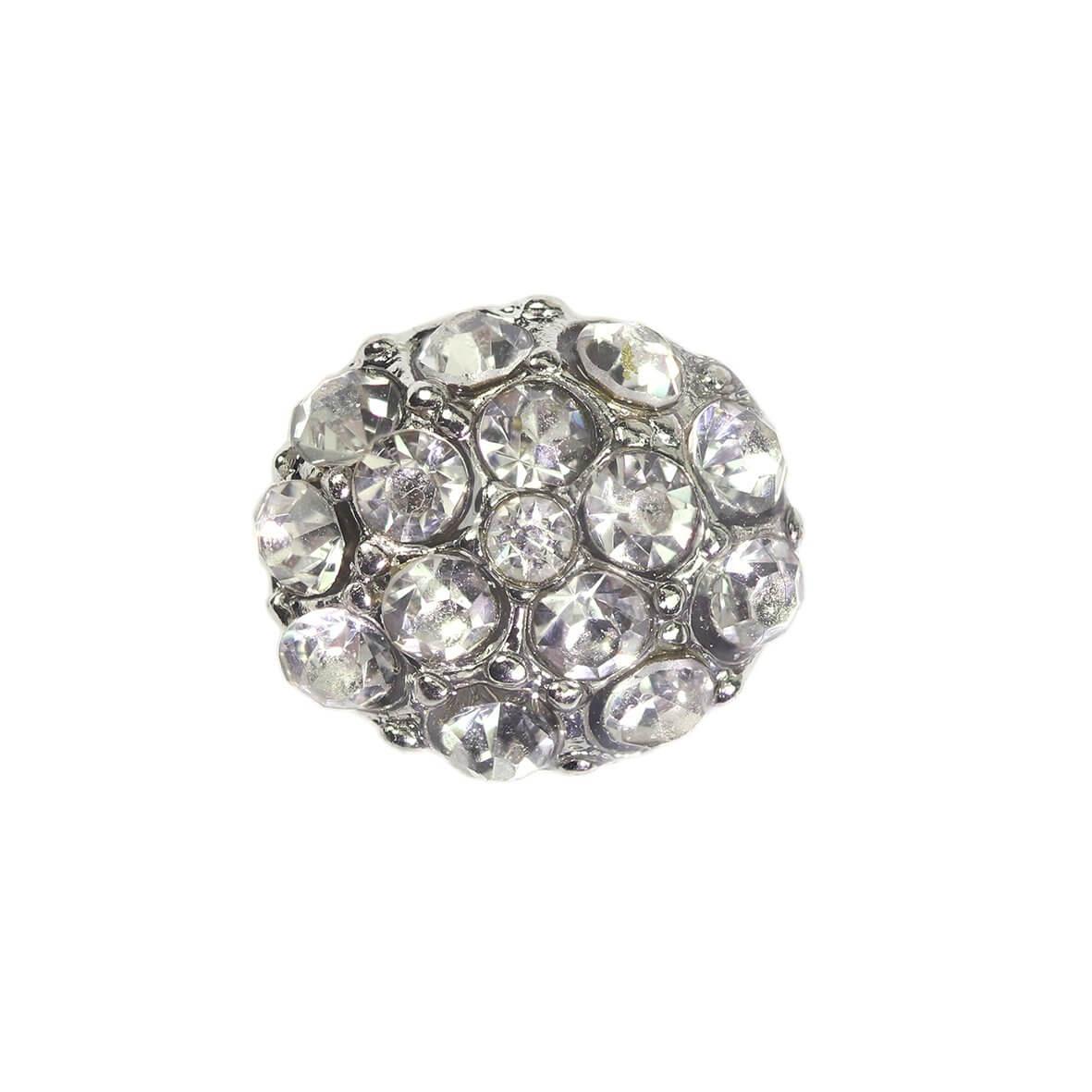 Pia Silver Diamante Embellishment