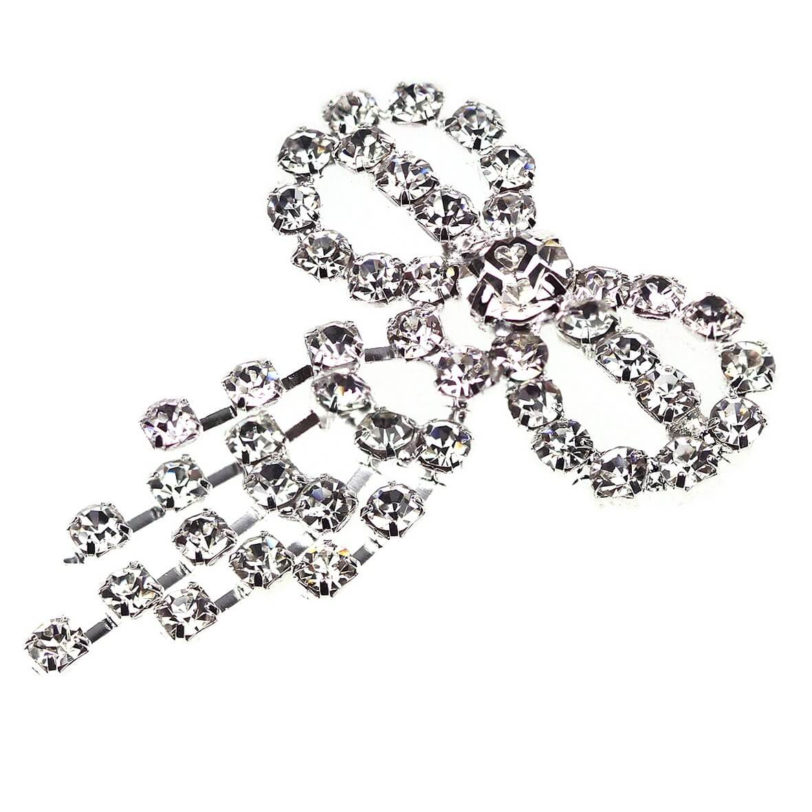 Mira Bow Diamante Drop