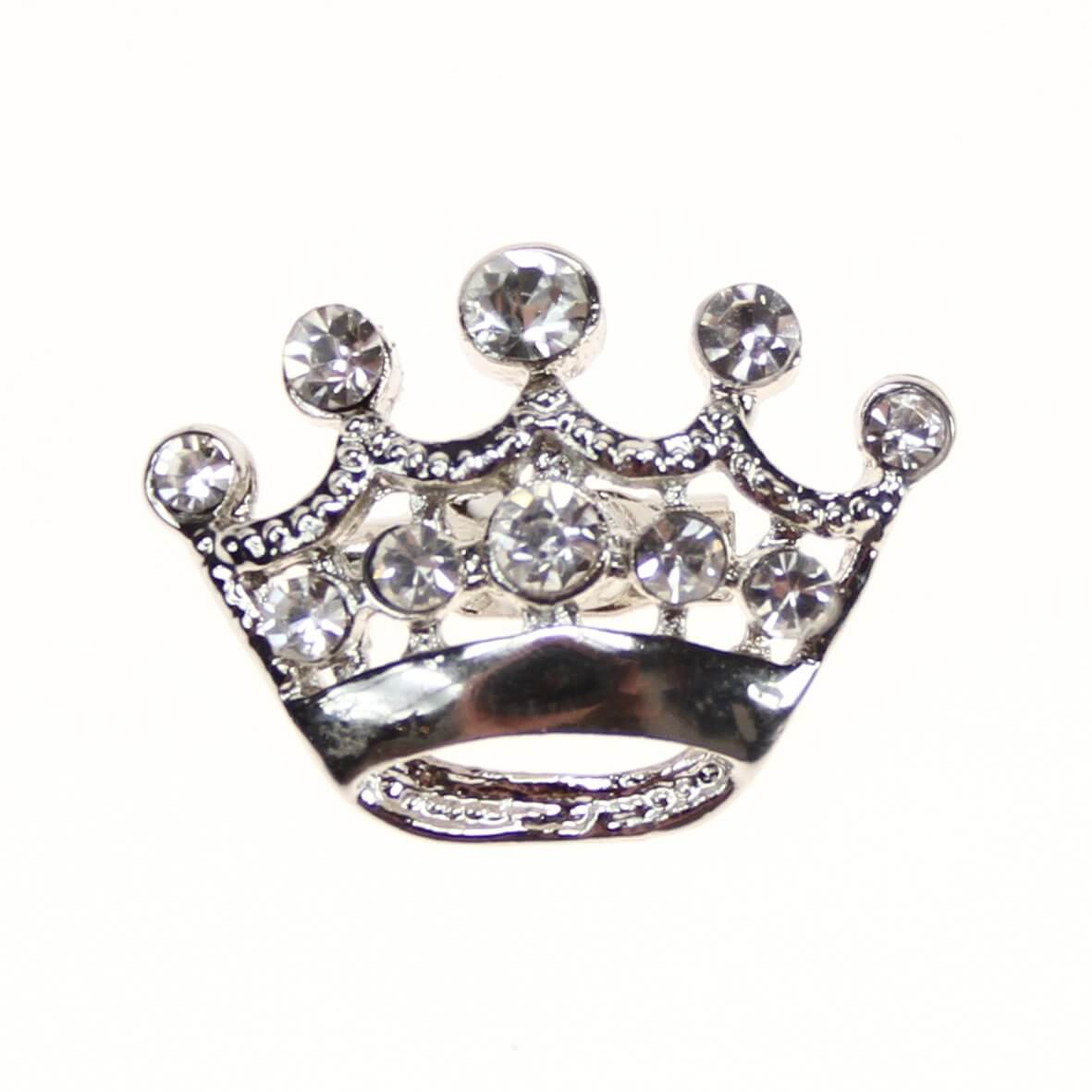 Minuet Crown (Embellishment) - a crown shaped diamante embellishment