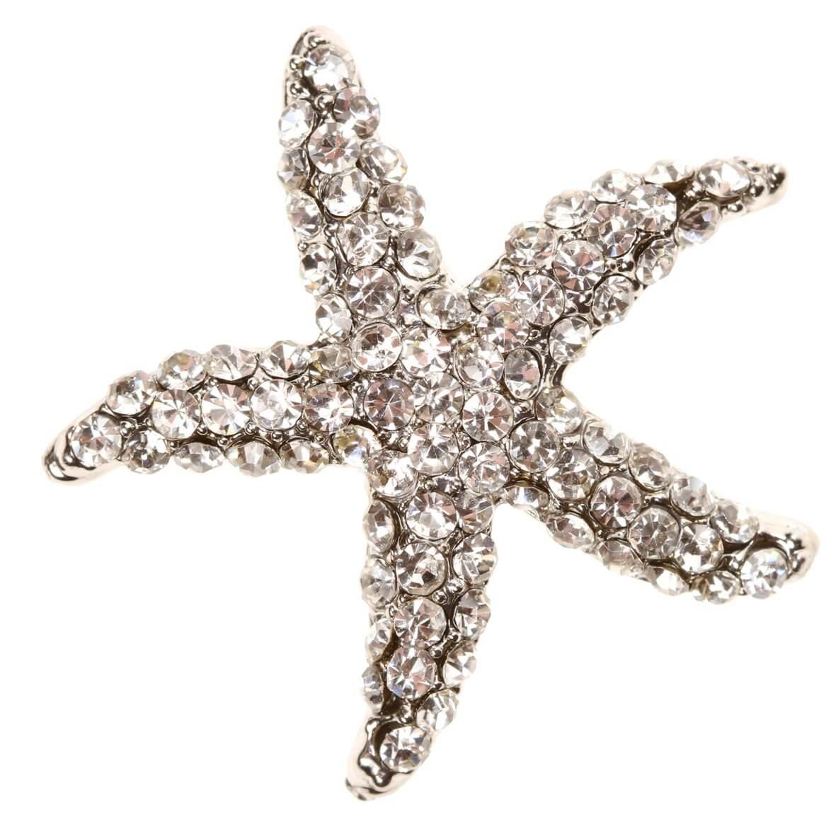 Starfish Diamante Embellishment
