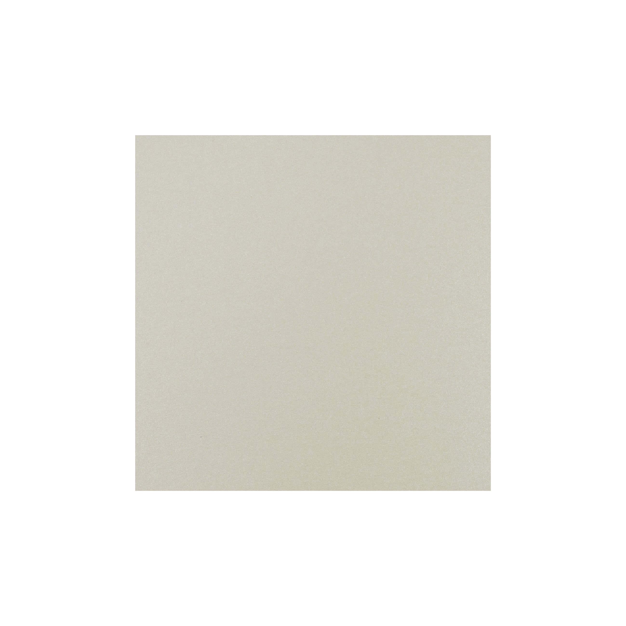 Cardstock 125mm Square - Vintage Ivory