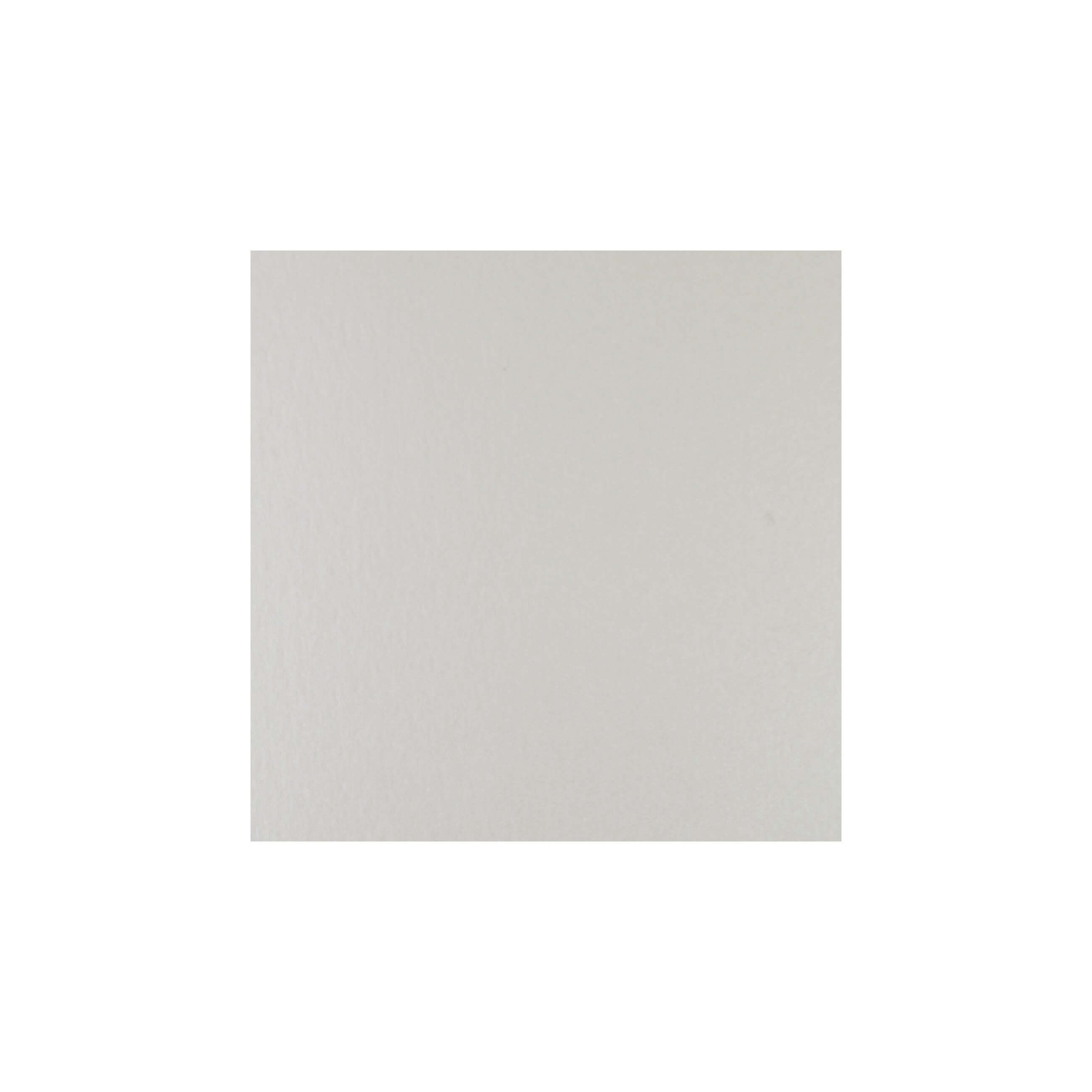 Cardstock 119mm Square - Soft Sheen Ivory