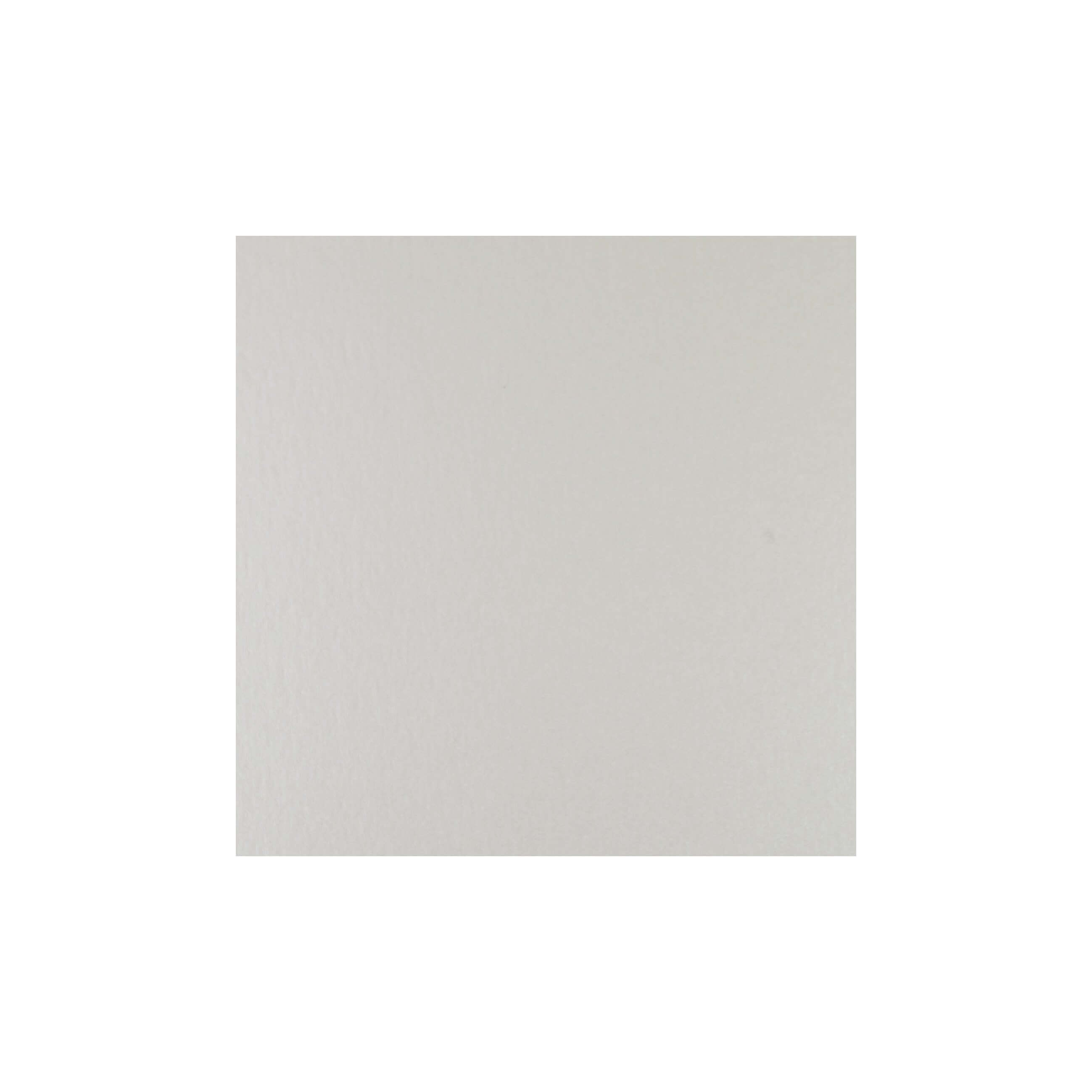 Cardstock 125mm Square - Soft Sheen Ivory