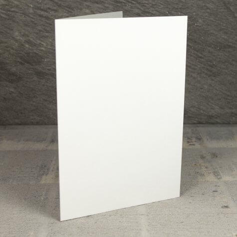 Creased Card A5 - Antique Ivory