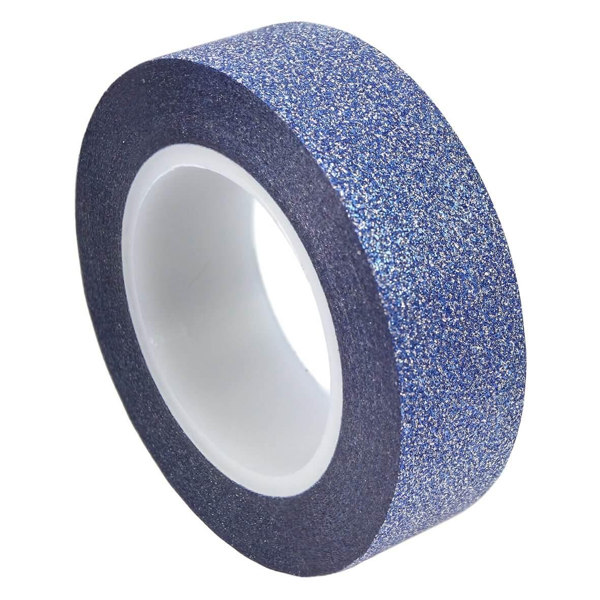 Glitter Tape - Dusky Blue