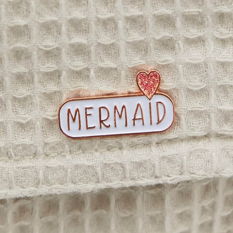 MERMAID Enamel Pin Badge